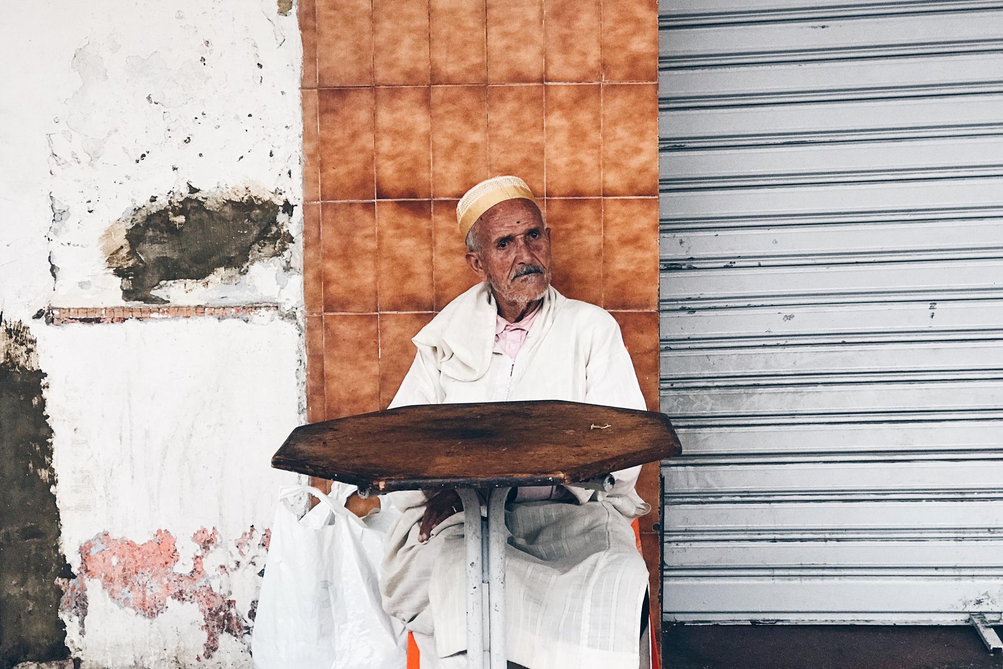 Waiting by Abderrahman Amazzal