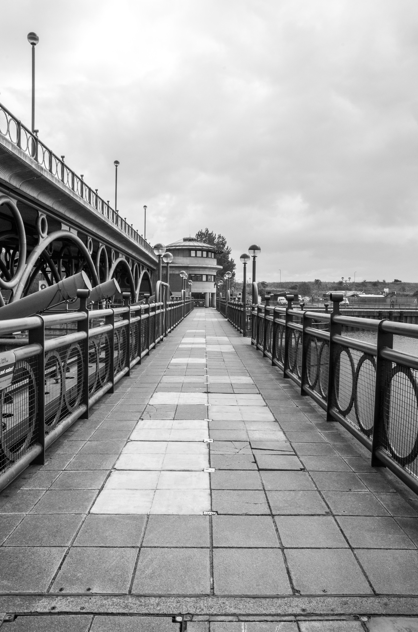 Tees Barrage by Anthony Chapman