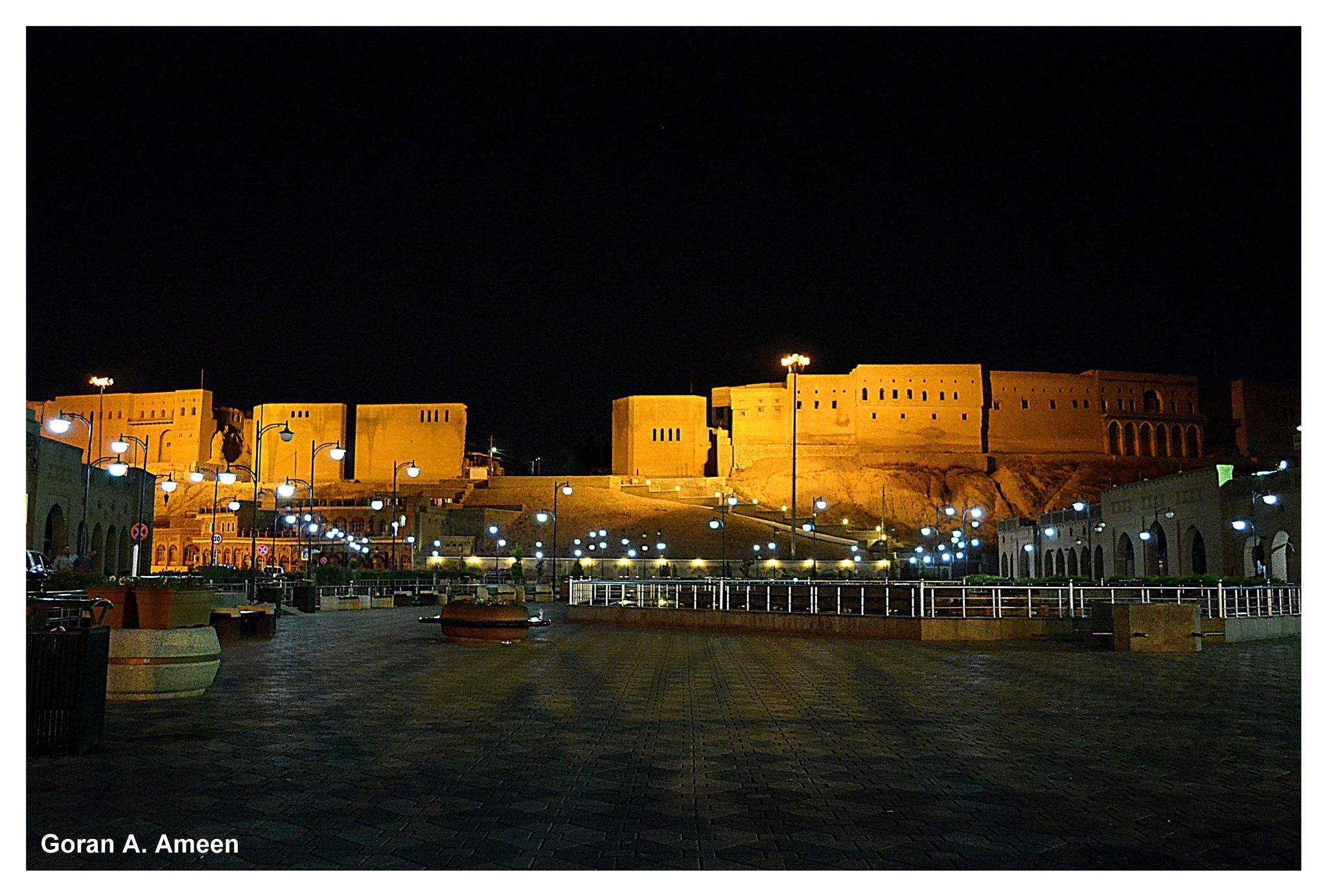 Citadel of Erbil - Kurdistan by Goran A. Ameen