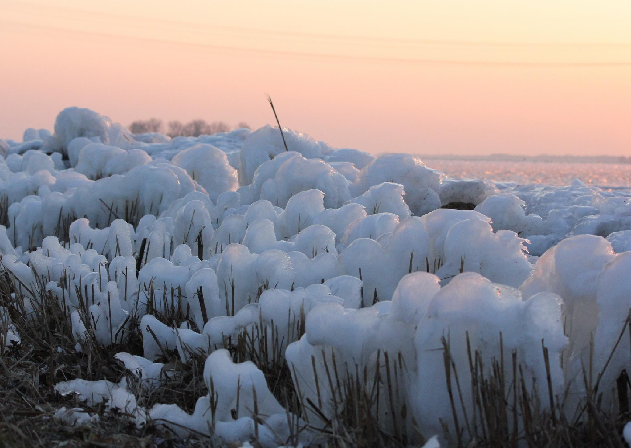 Frost, wind and water by Henry Geerling