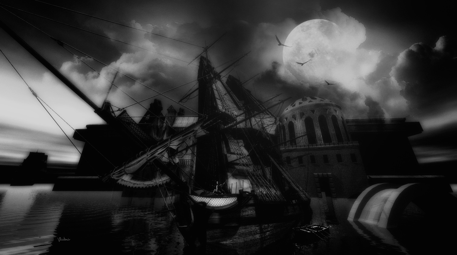Boat by Vladimir Desancic