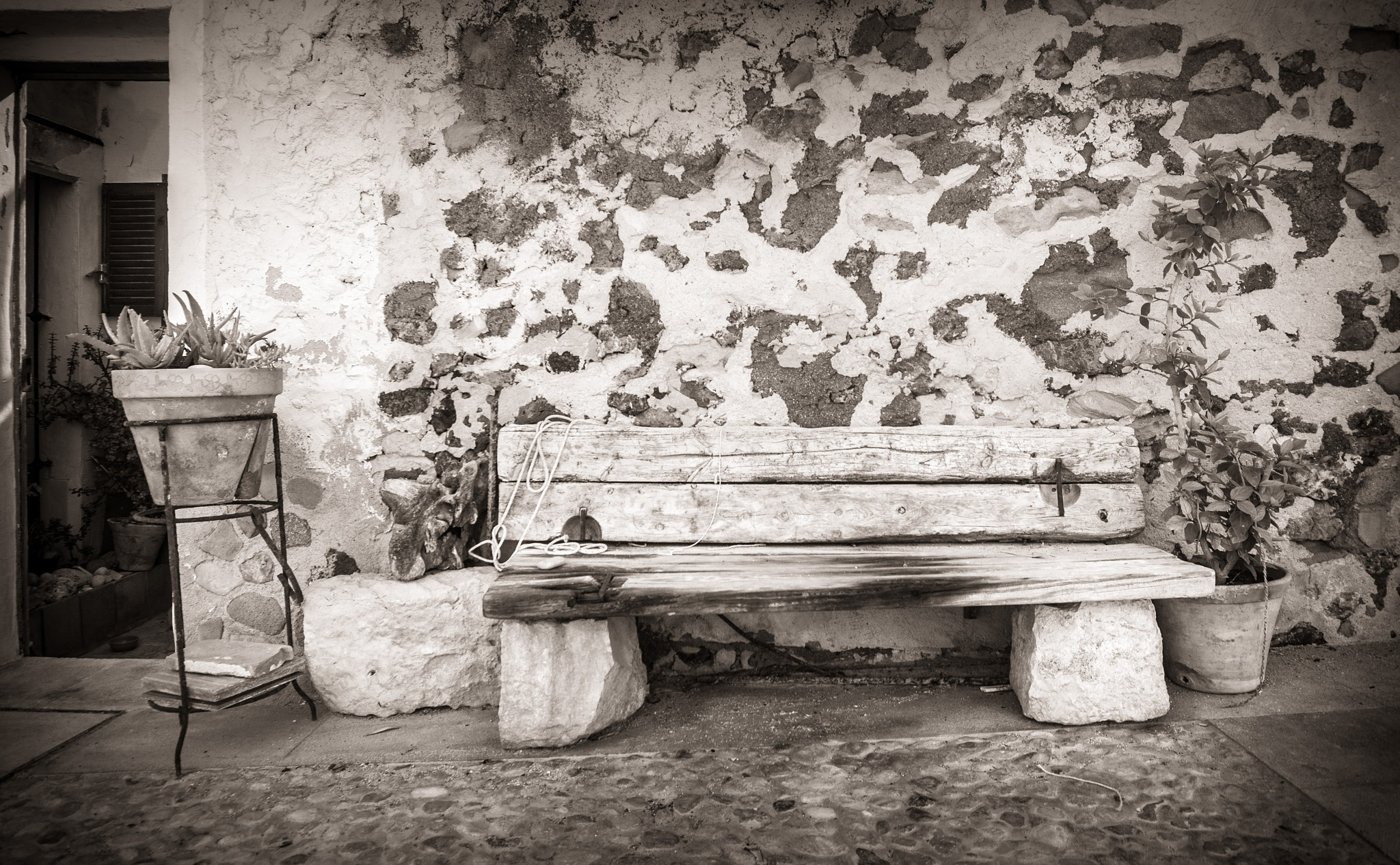 Rustic Resting Place. by Gary Gillette