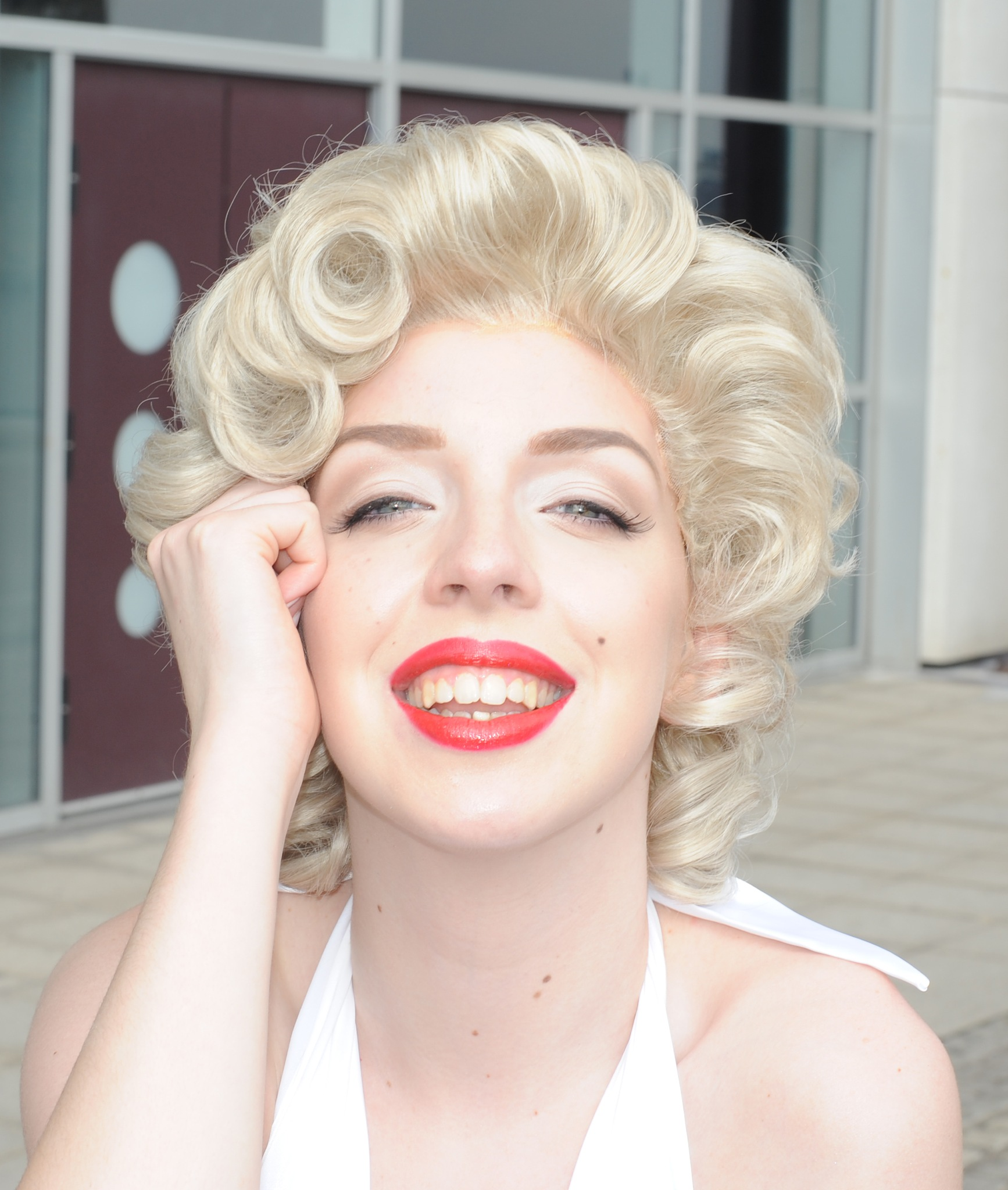 Marilyn Monroe cosplay @ MCM Comic-con -Excel centre London by og_IMX