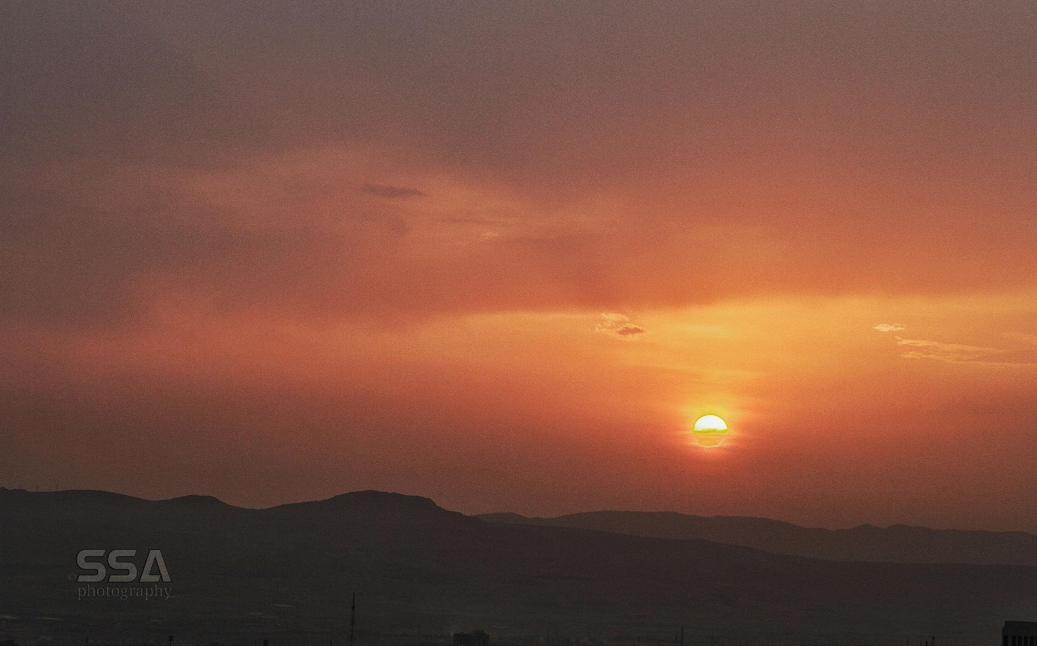 sunset by Soran Salam .. photography