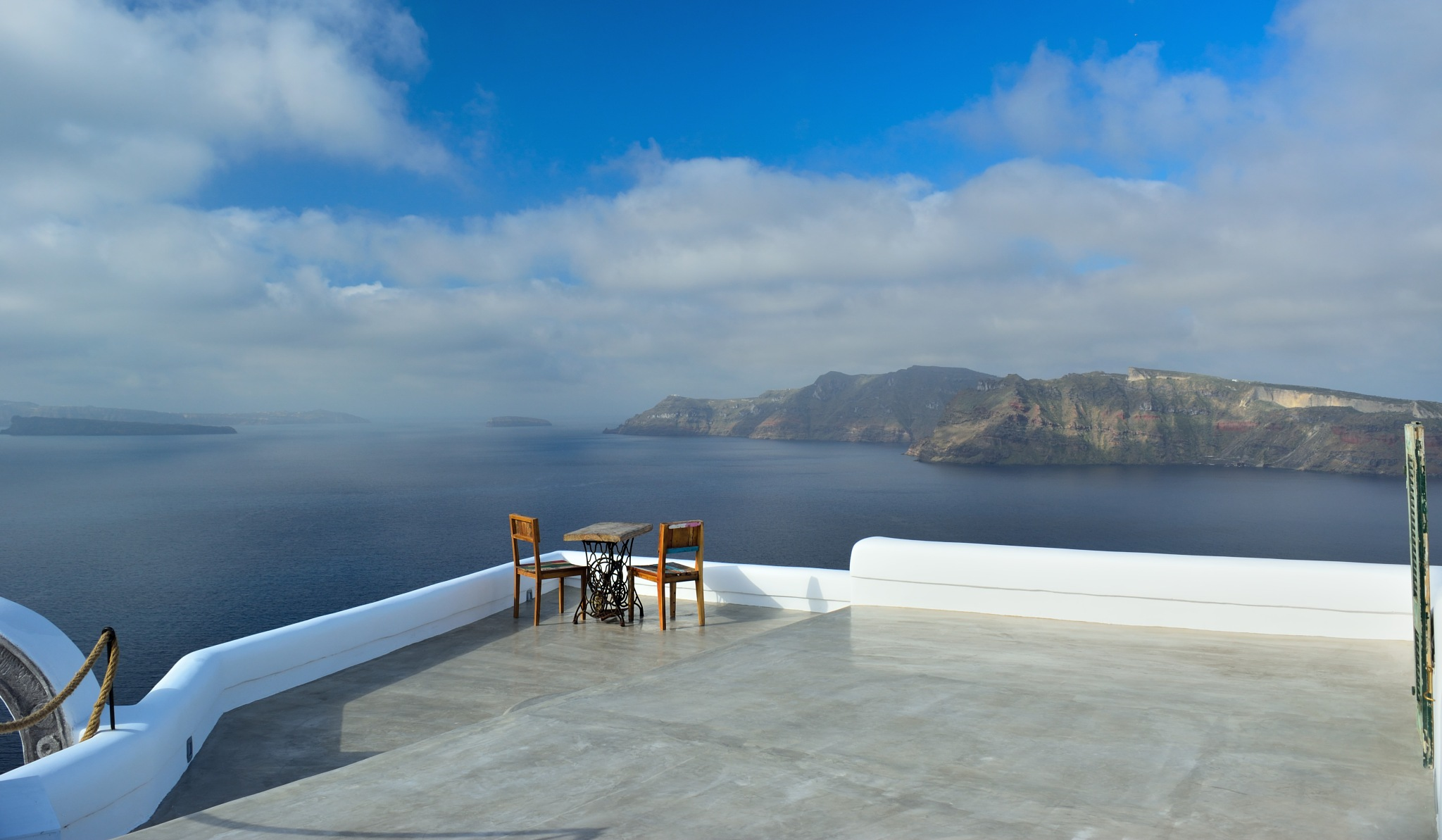 First table with a view by John Papadopoulos