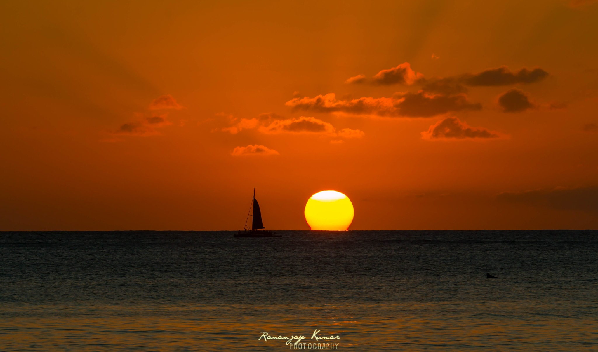 Hawaiian Sunset by Rananjay Kumar