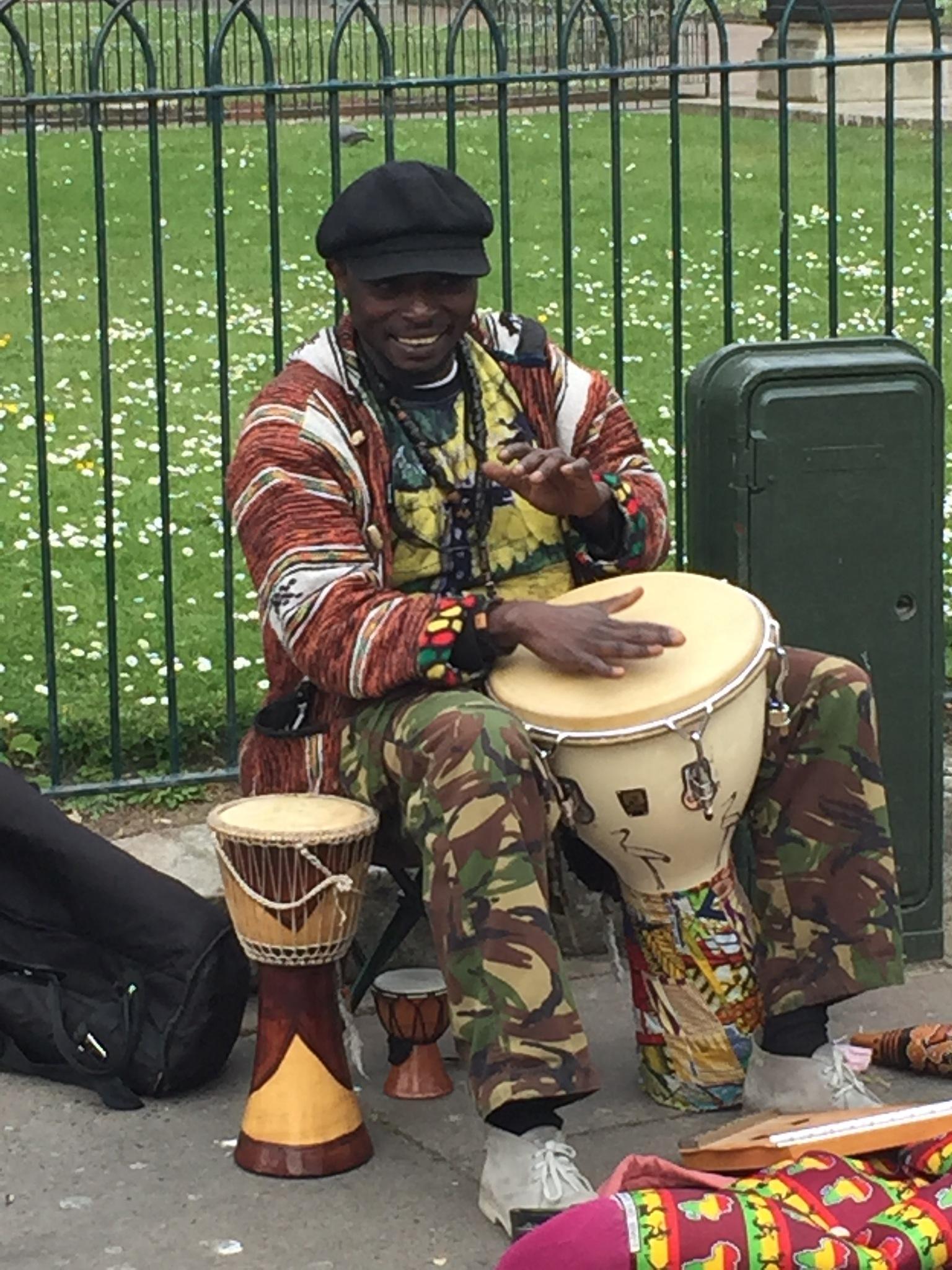 Drum player by KurdSpring