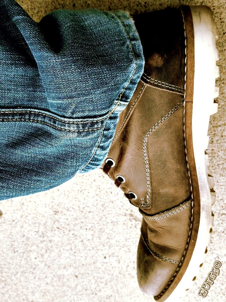 Boot Made For Walking by Zutes Photography