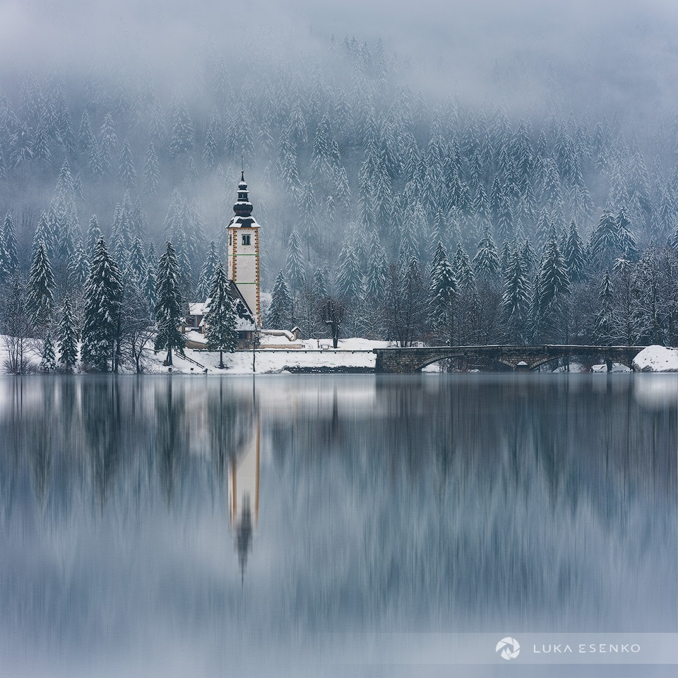 Lake Bohinj in Winter by Luka Esenko