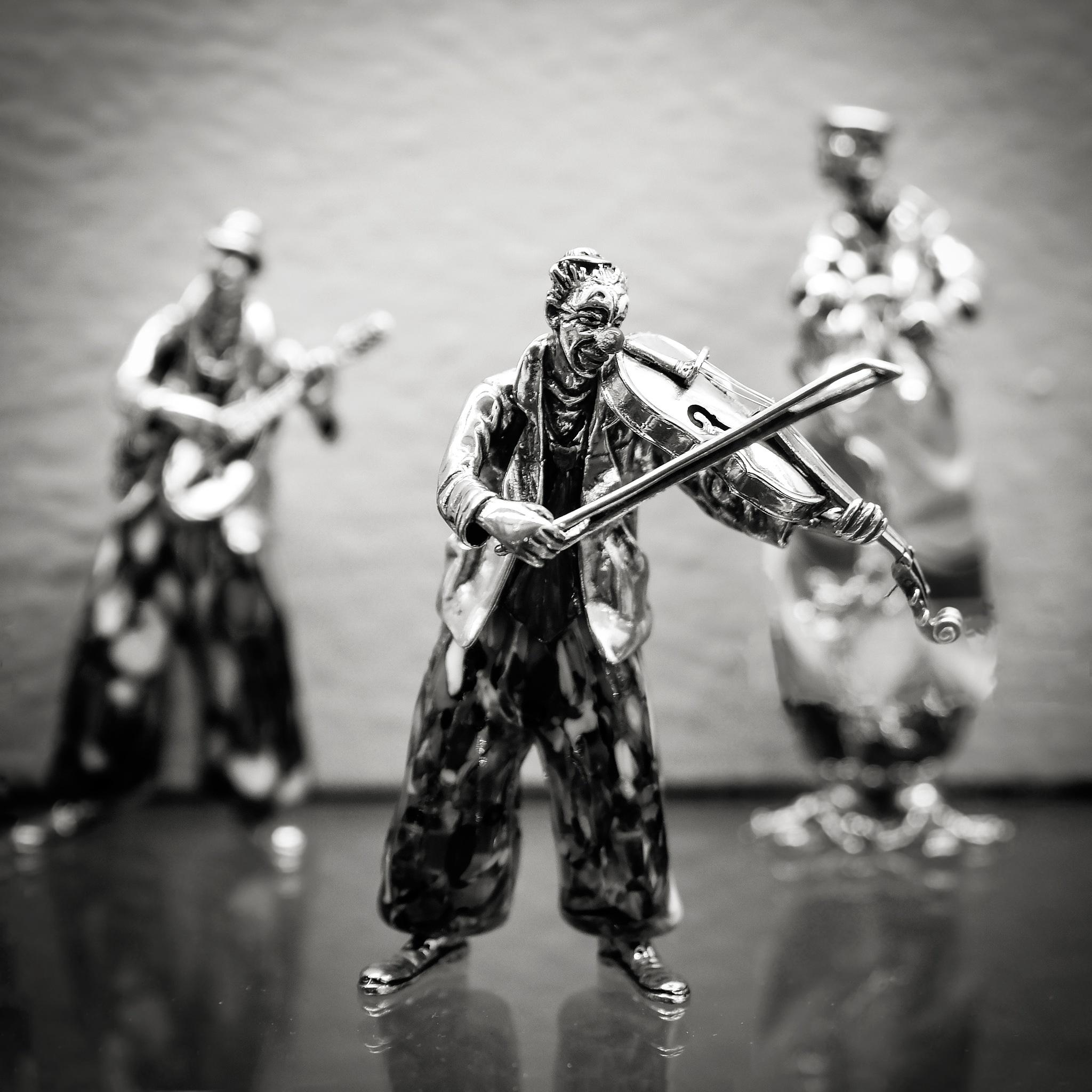 Fiddler by Moshe Harosh