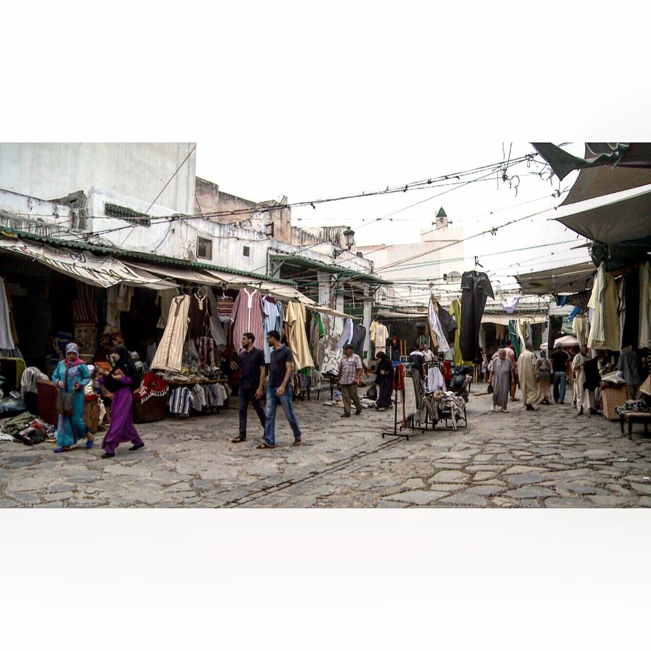 المدينة القديمة للعاصمة الرباط by Nabil El Hachimi