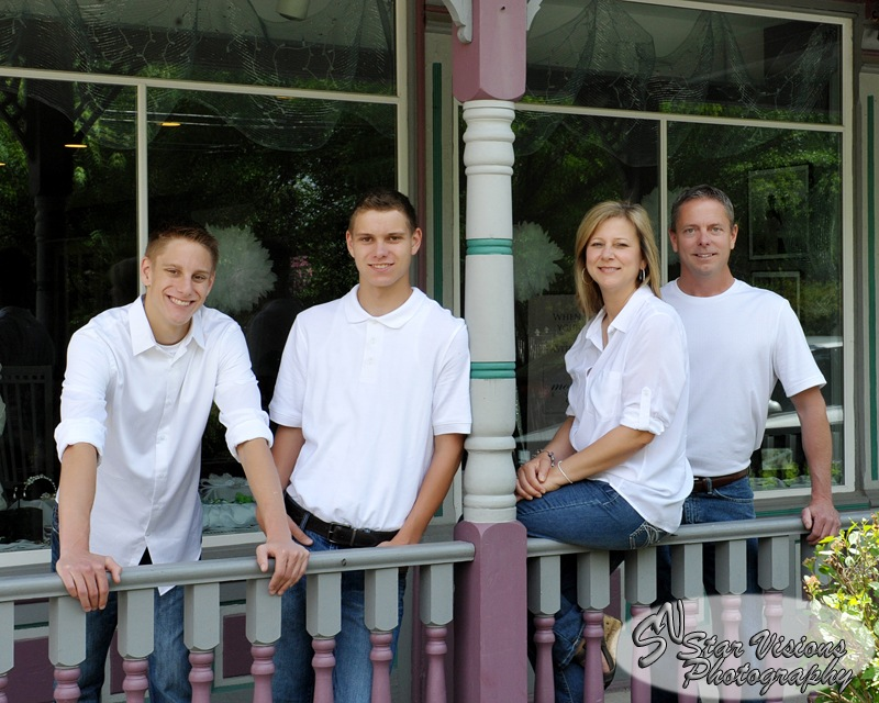 Outside Family Portrait #148 Star Visions Photography by Kenneth Hawke
