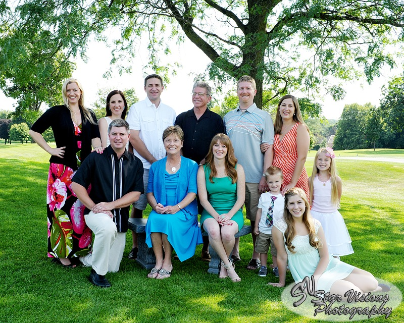 Family Portrait by Kenneth Hawke