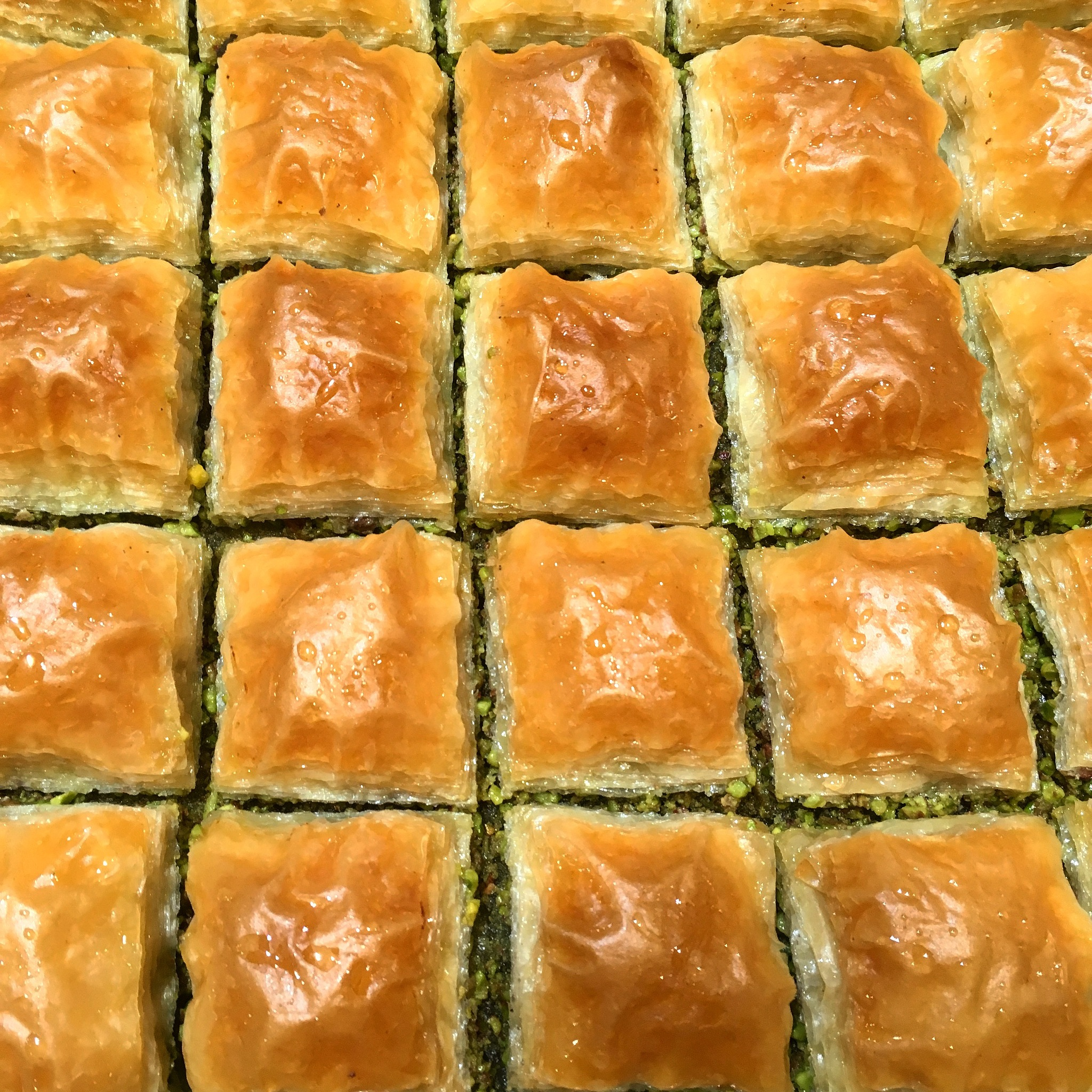 The most famous and delicious Gazientap Baklava by Musa Hamza