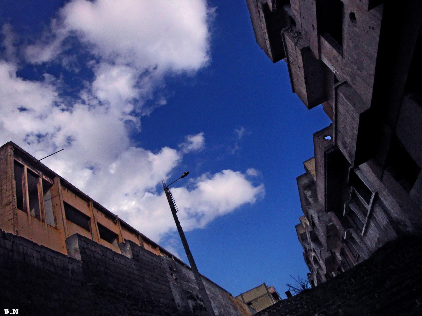 Abandoned houses by Basel H Daneel