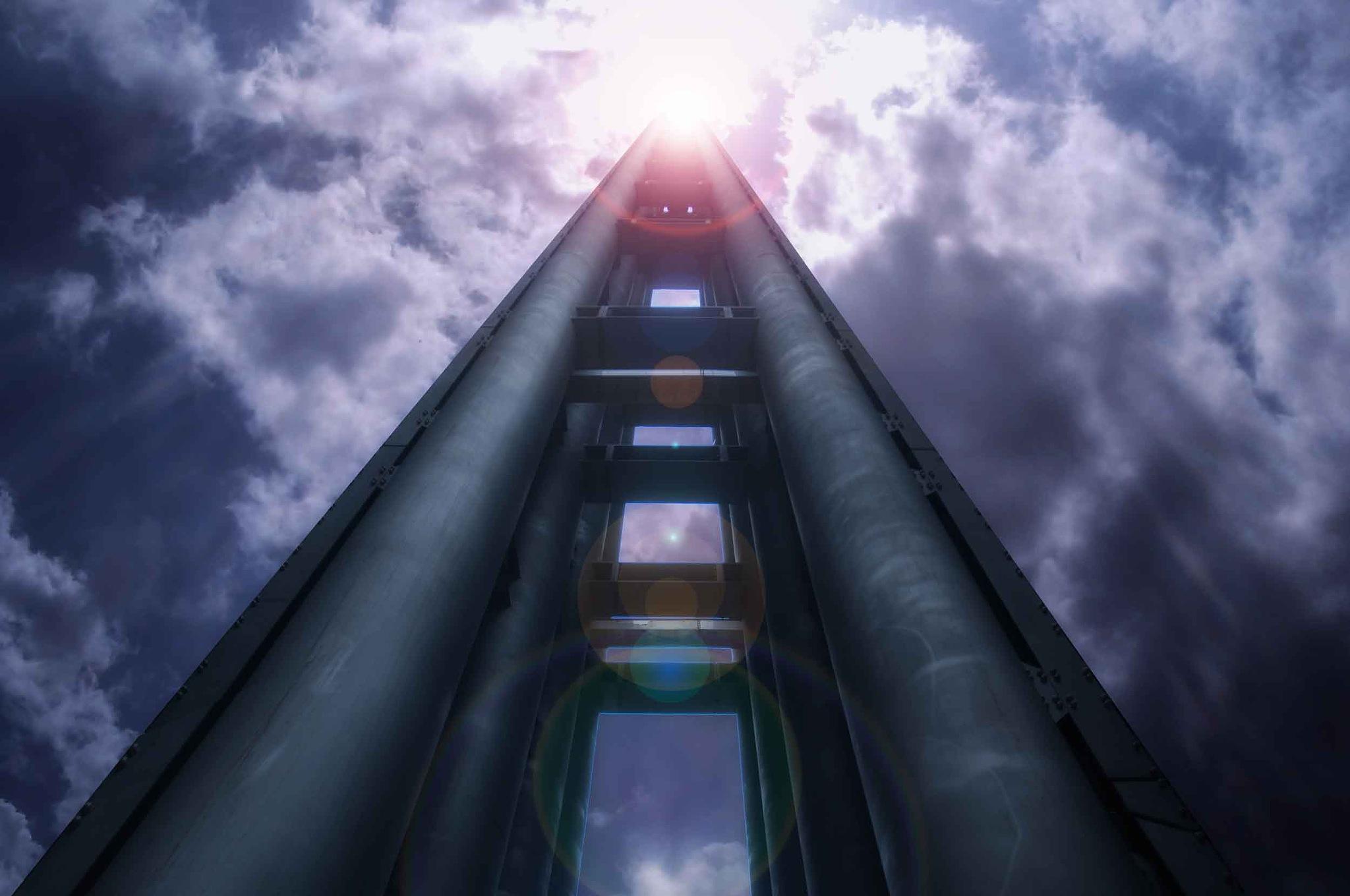The Stele of Light by Gabo Romero