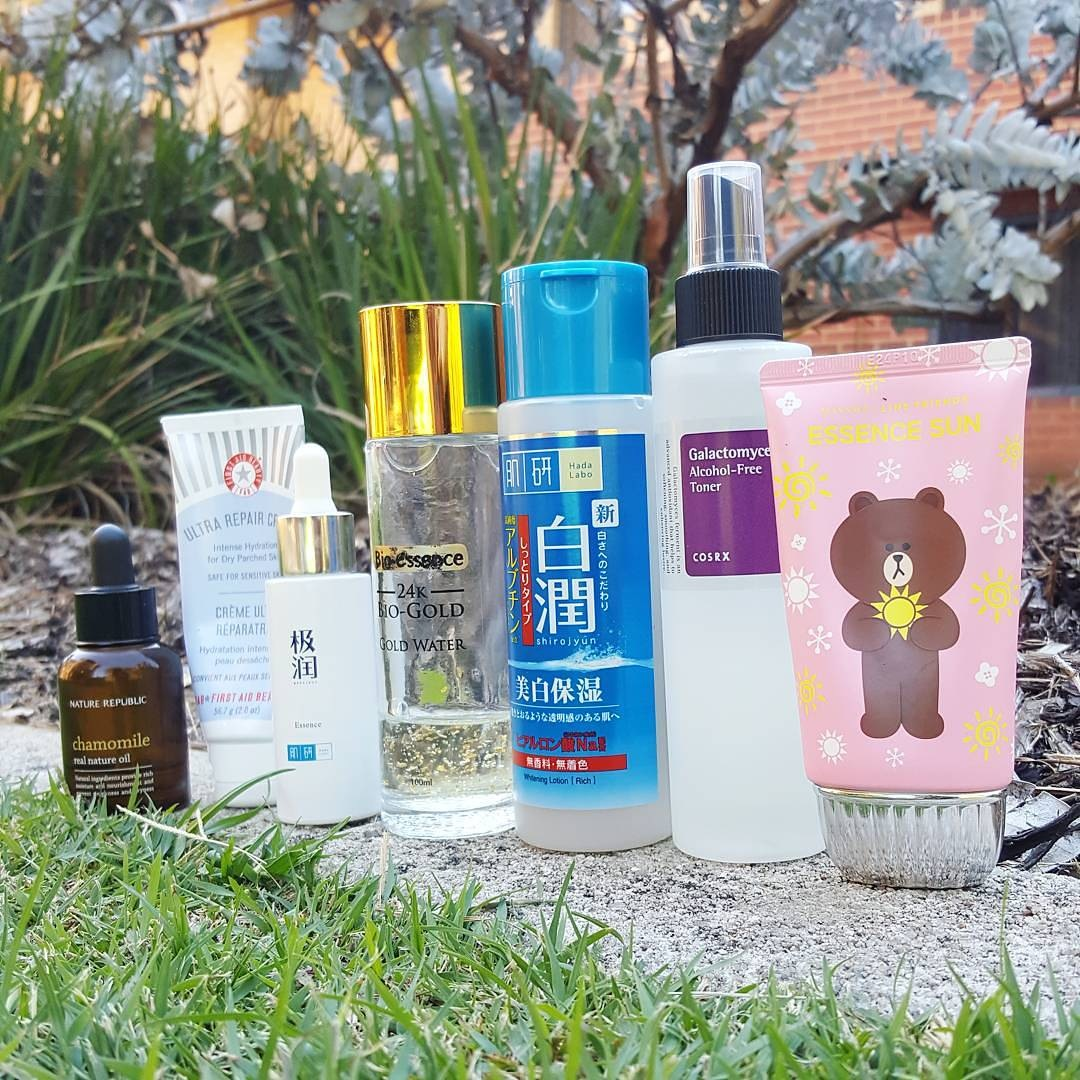 Gentle skincare products by rosalindblog