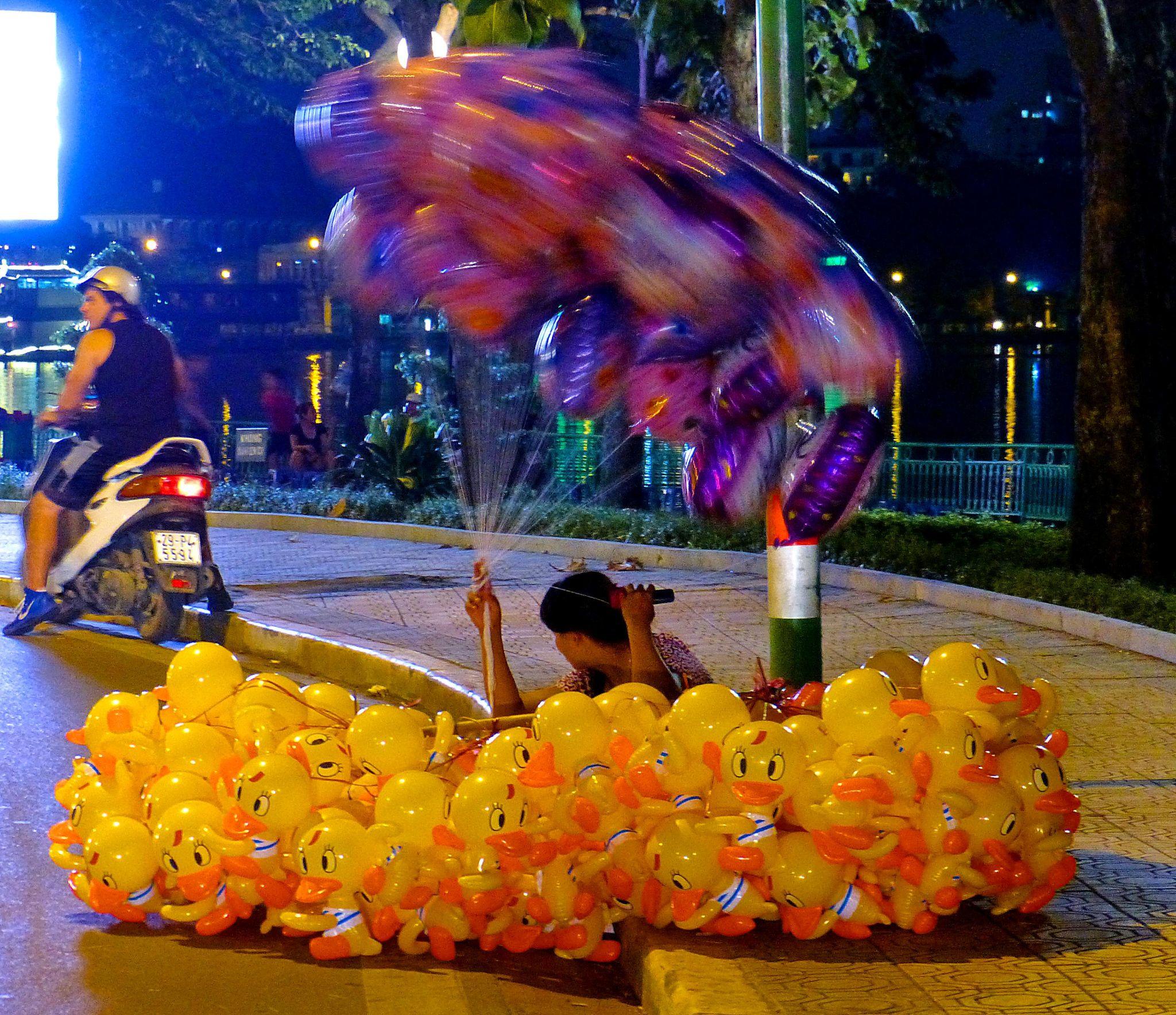 Hanoi . Ducking by marcosarli