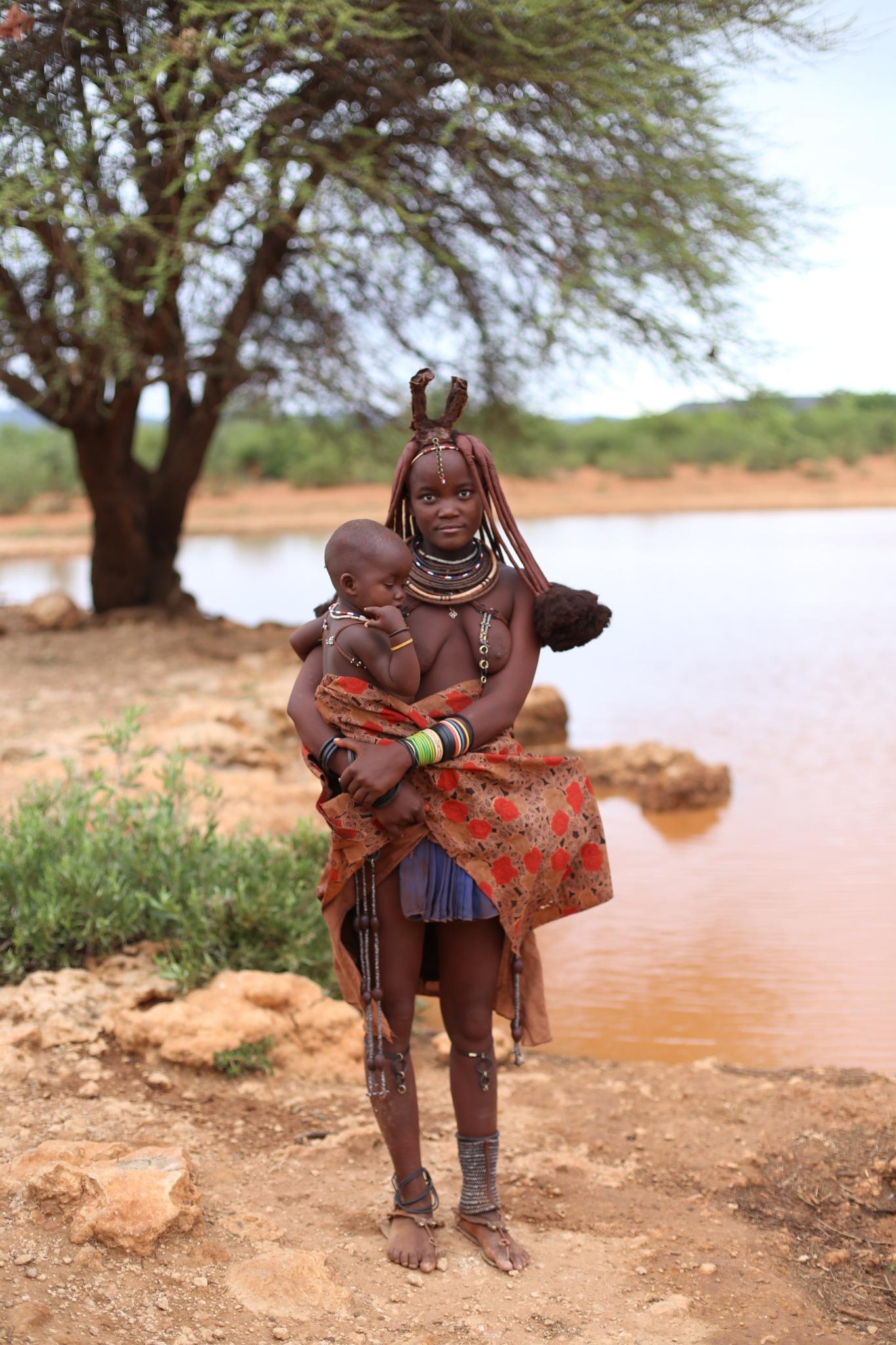 Himba's woman by M Carmen Perez Sanchez
