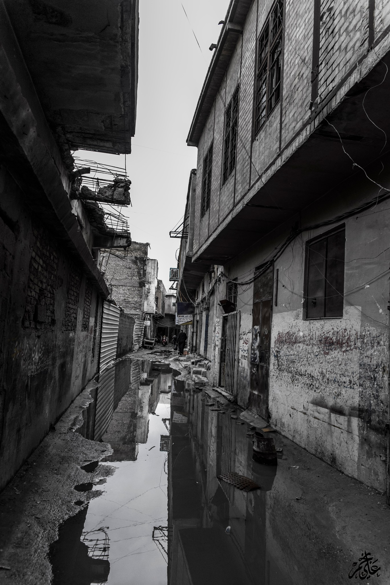 The alley of memories by Ali Al Nagem