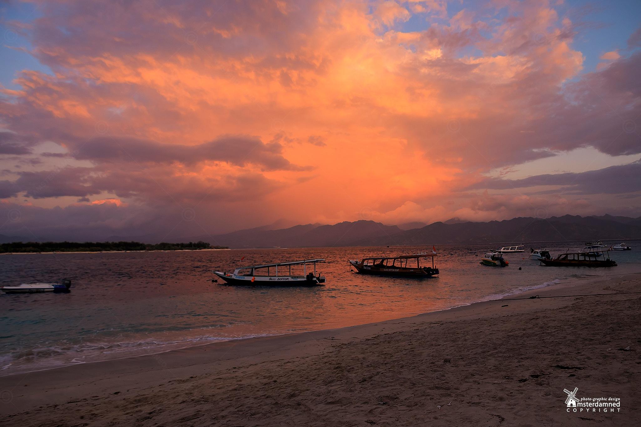 Gili Trawangan, (Lombok) Indonesia by Michael