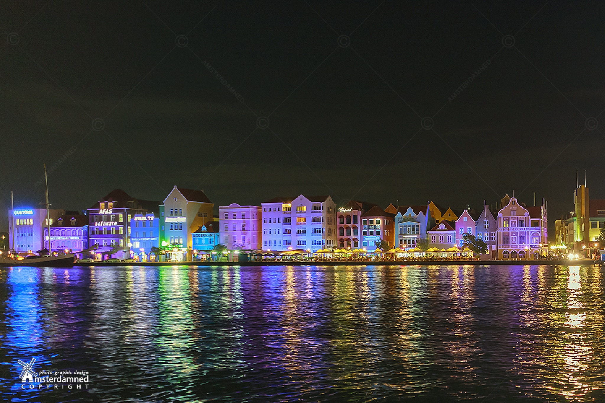 Willemstad, Curacao by Michael