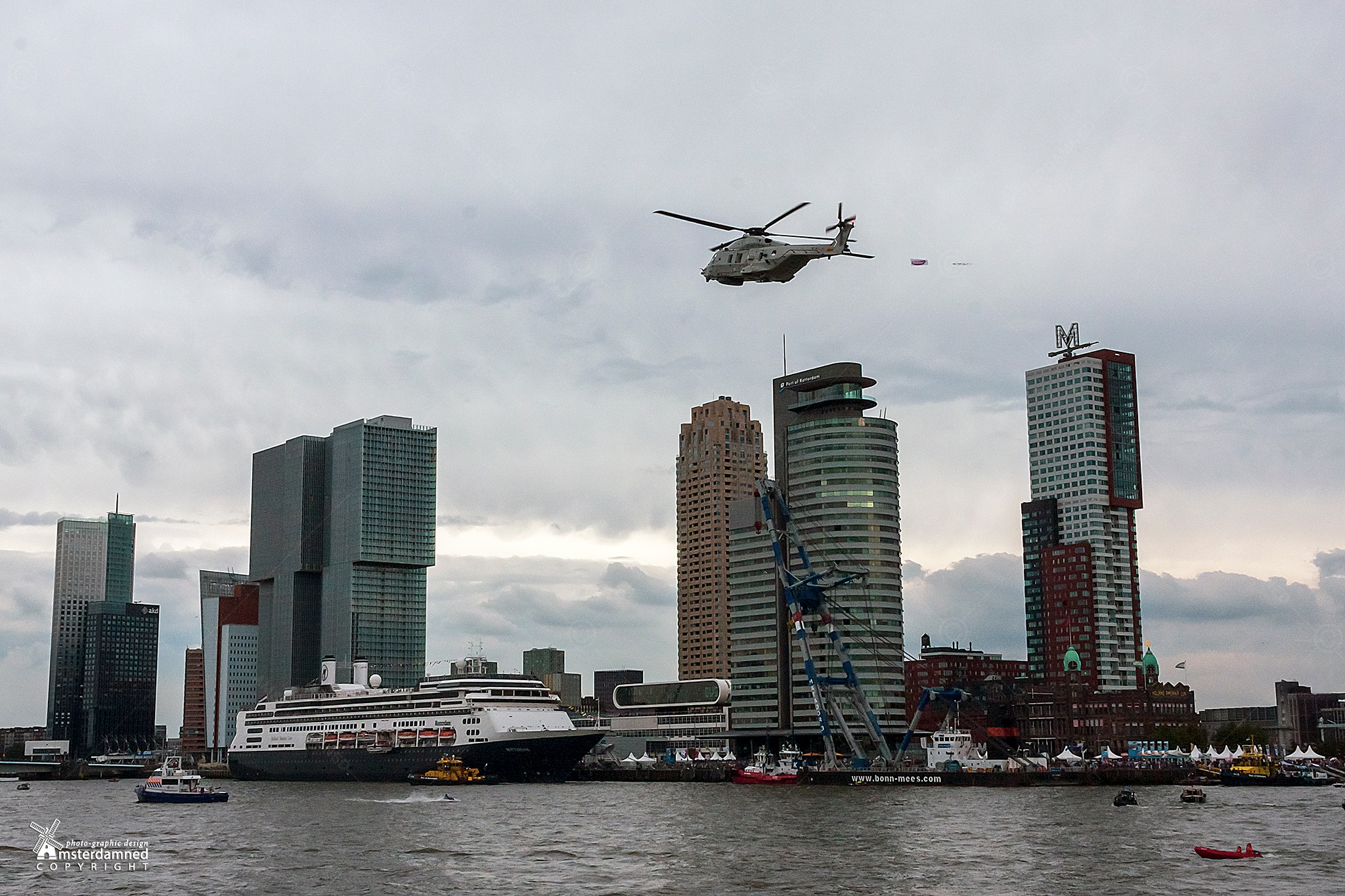 Rotterdam, The Netherlands by Michael
