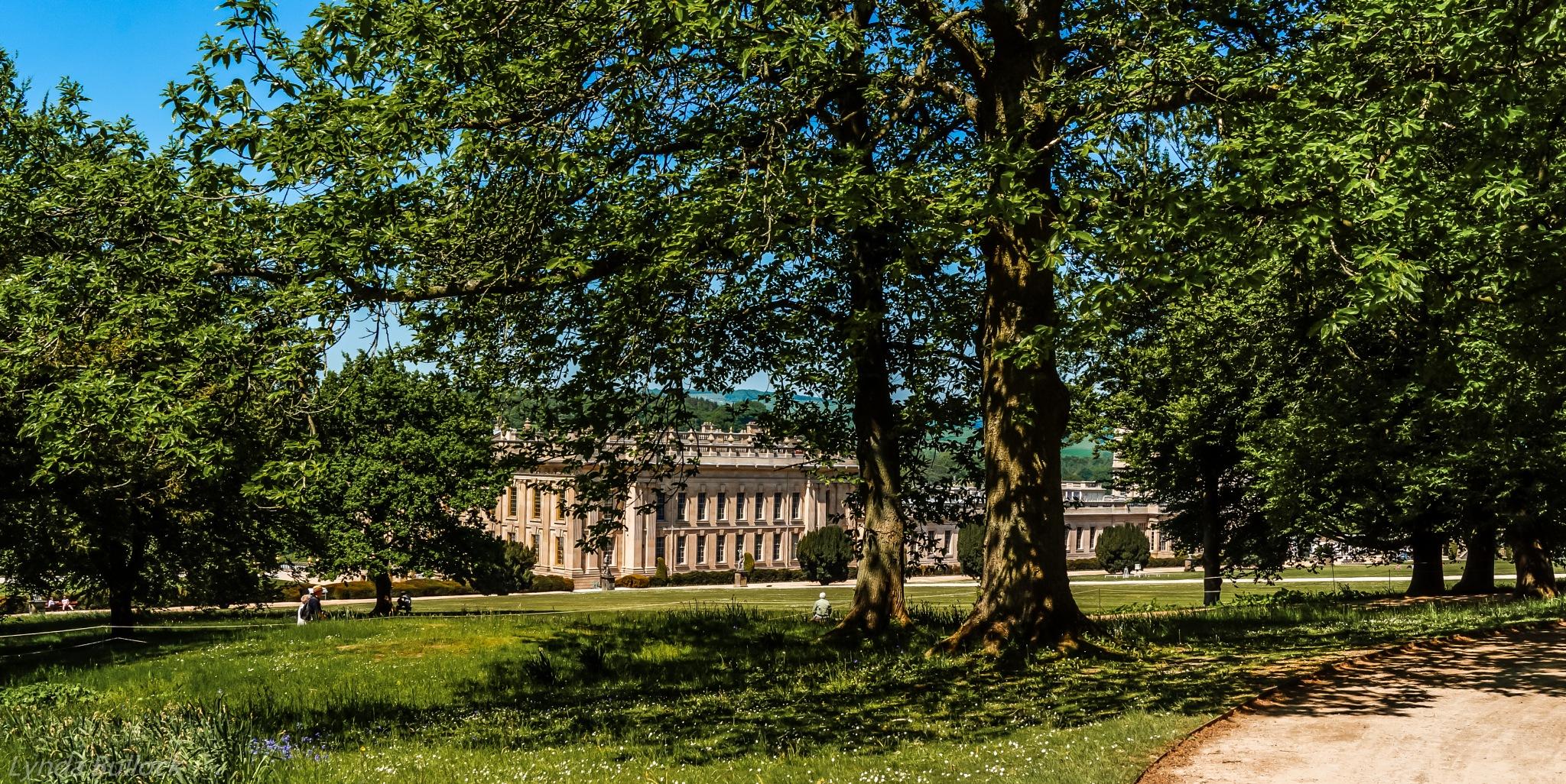 Chatsworth House Derbyshire by Lynda Bullock
