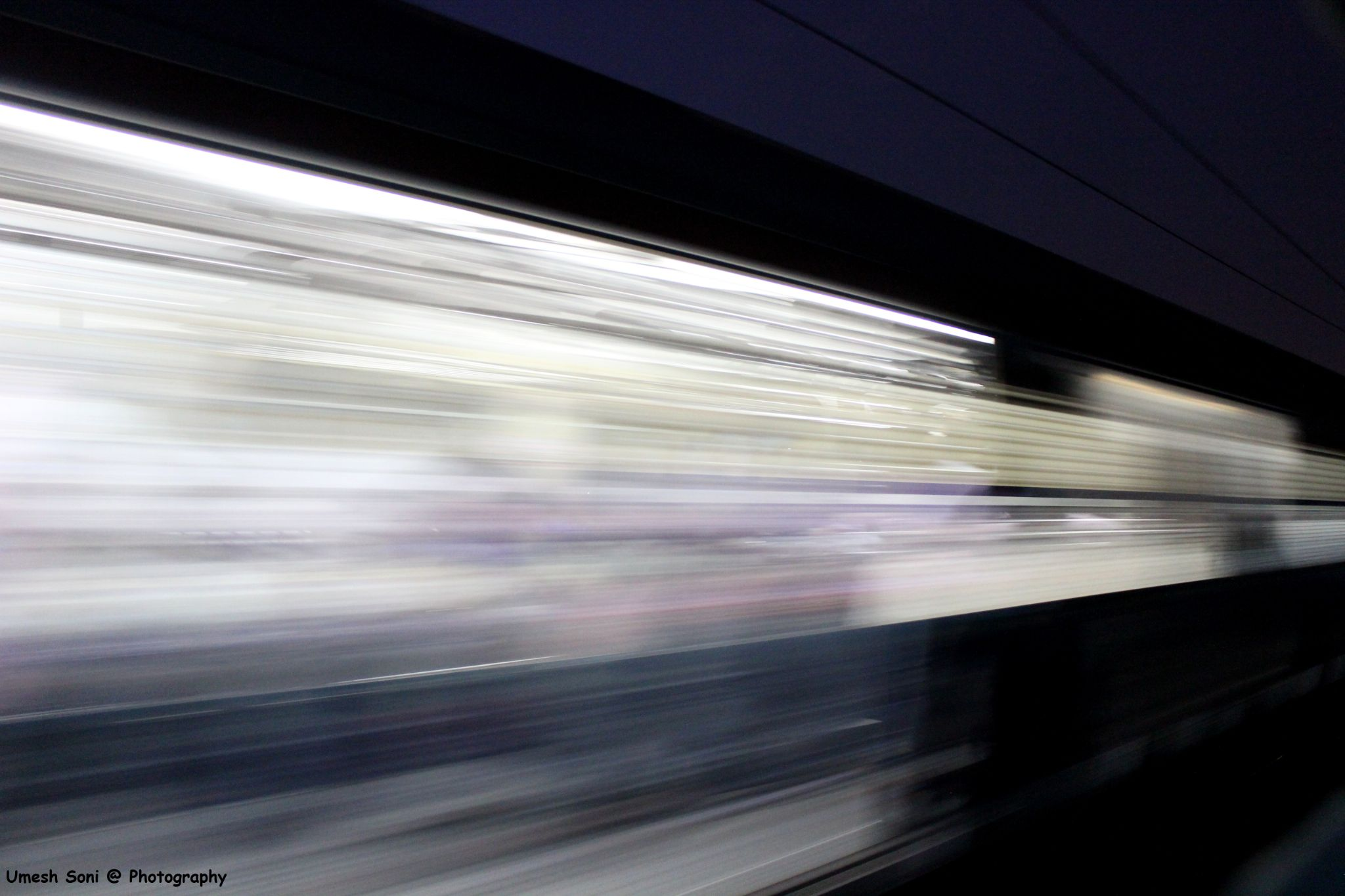Speed ...........The Train by Umesh Soni
