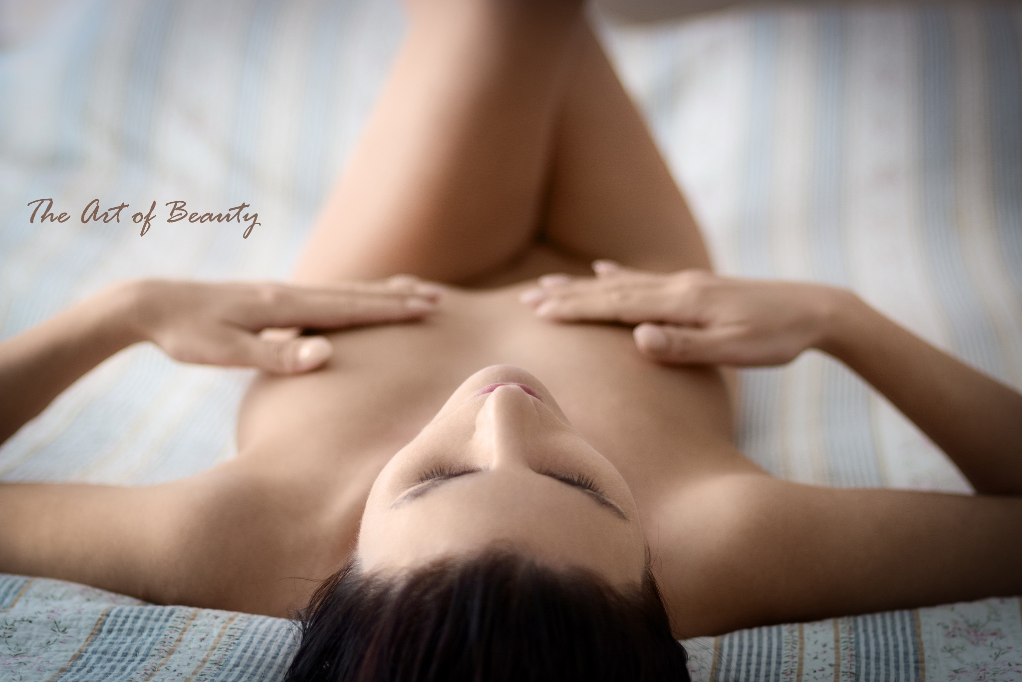 Lying on the bed #2 by The Art Of Beauty