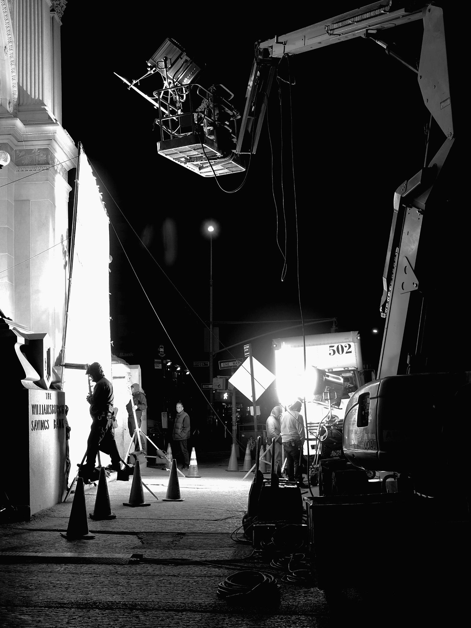 Un film, la nuit. by Cathy Crégniot