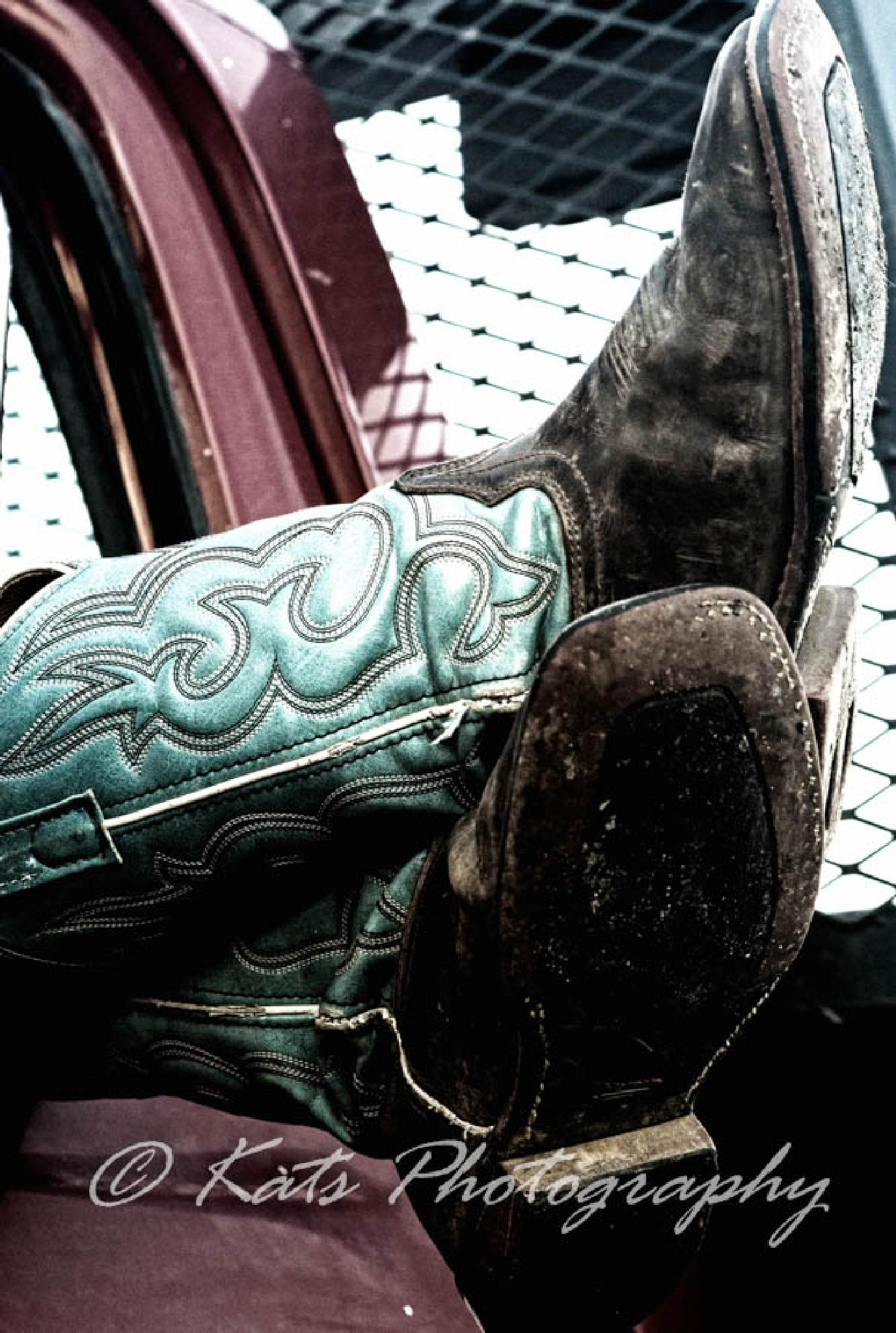 Trucks and Boots by Kathren Taylor