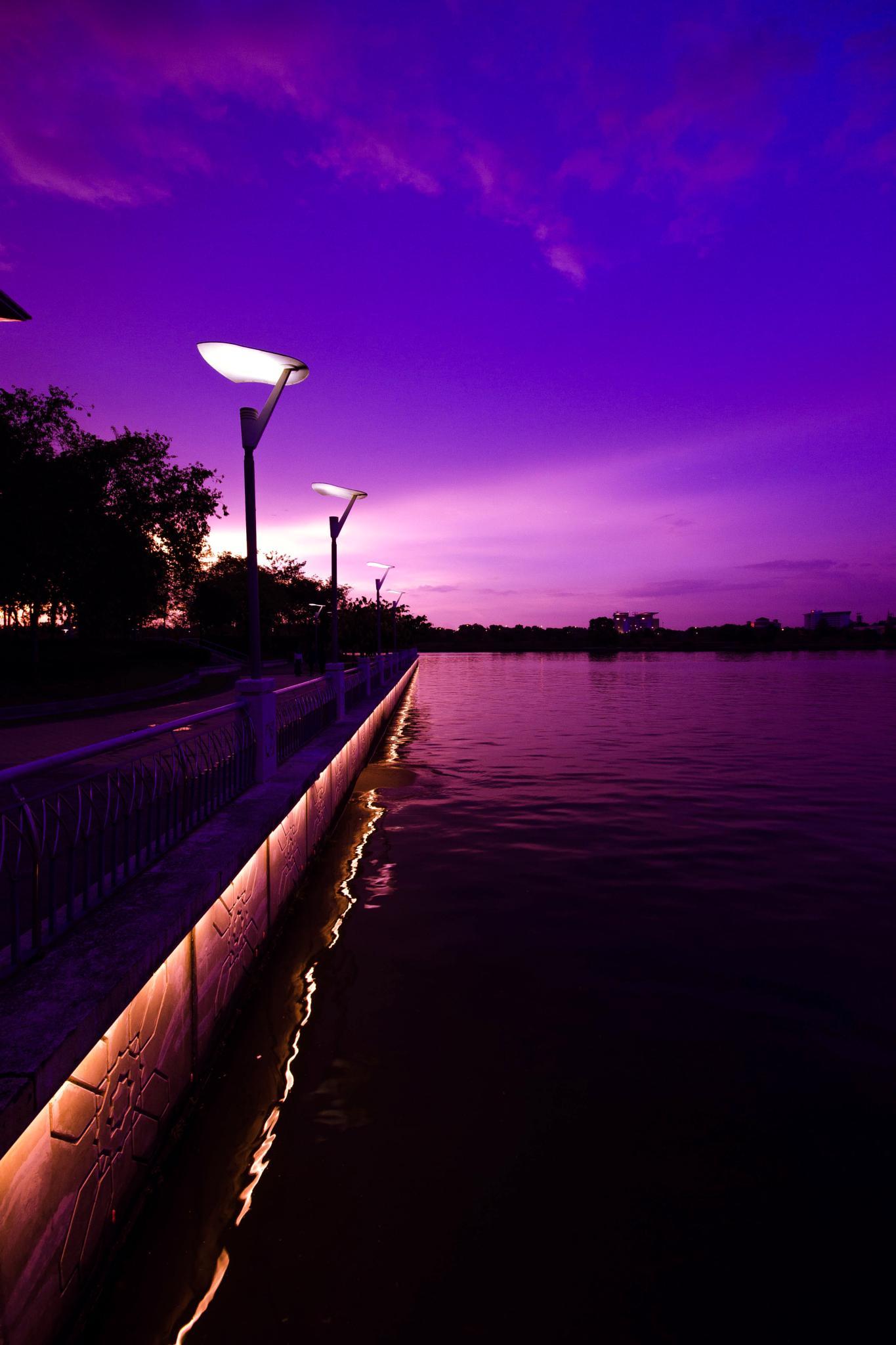 In sunset by Eden Firdaus