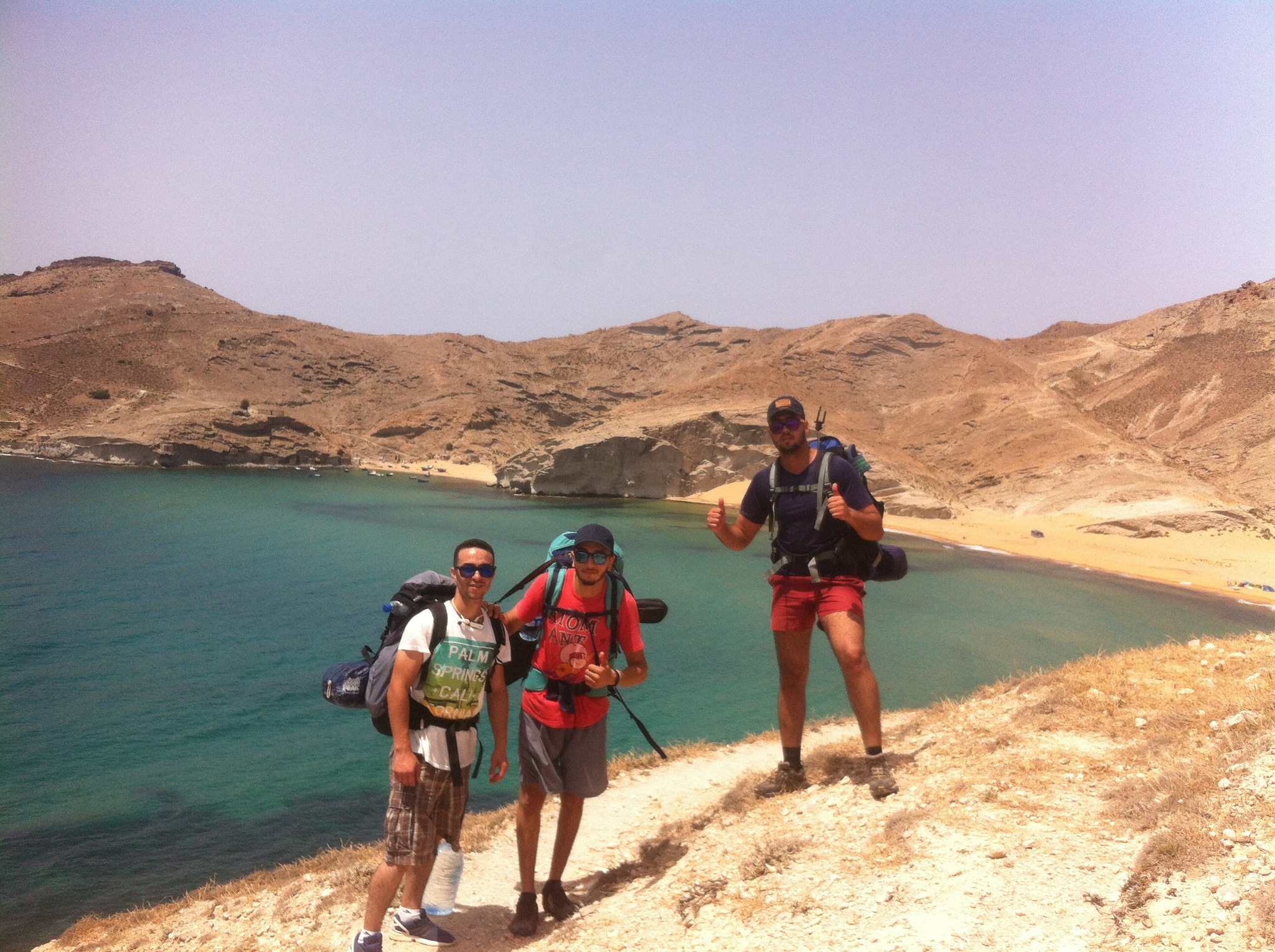 Trip in Morocco - charrana beach   by Issam Koza