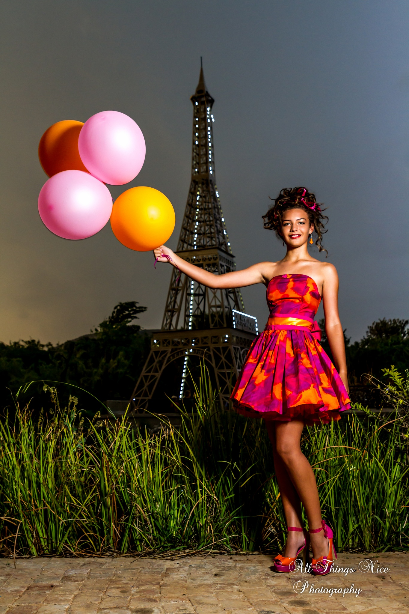 Photo in Fashion #french #balloons #modern