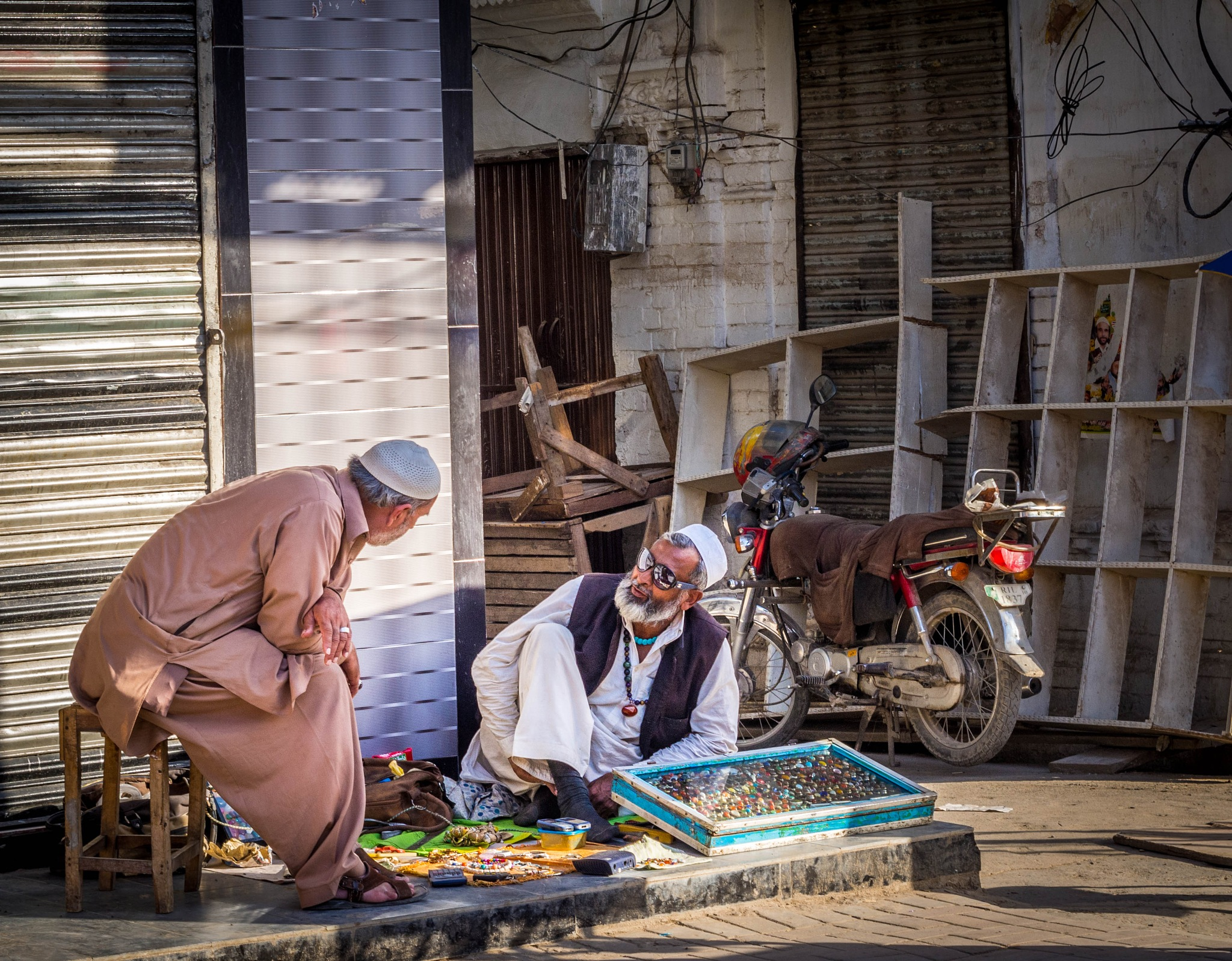 Gemstone Seller by impressionsbyatif