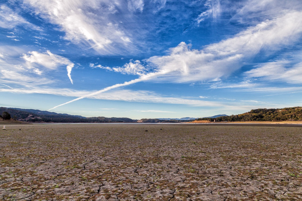 Lake Mendocino in the drought by bwh2017