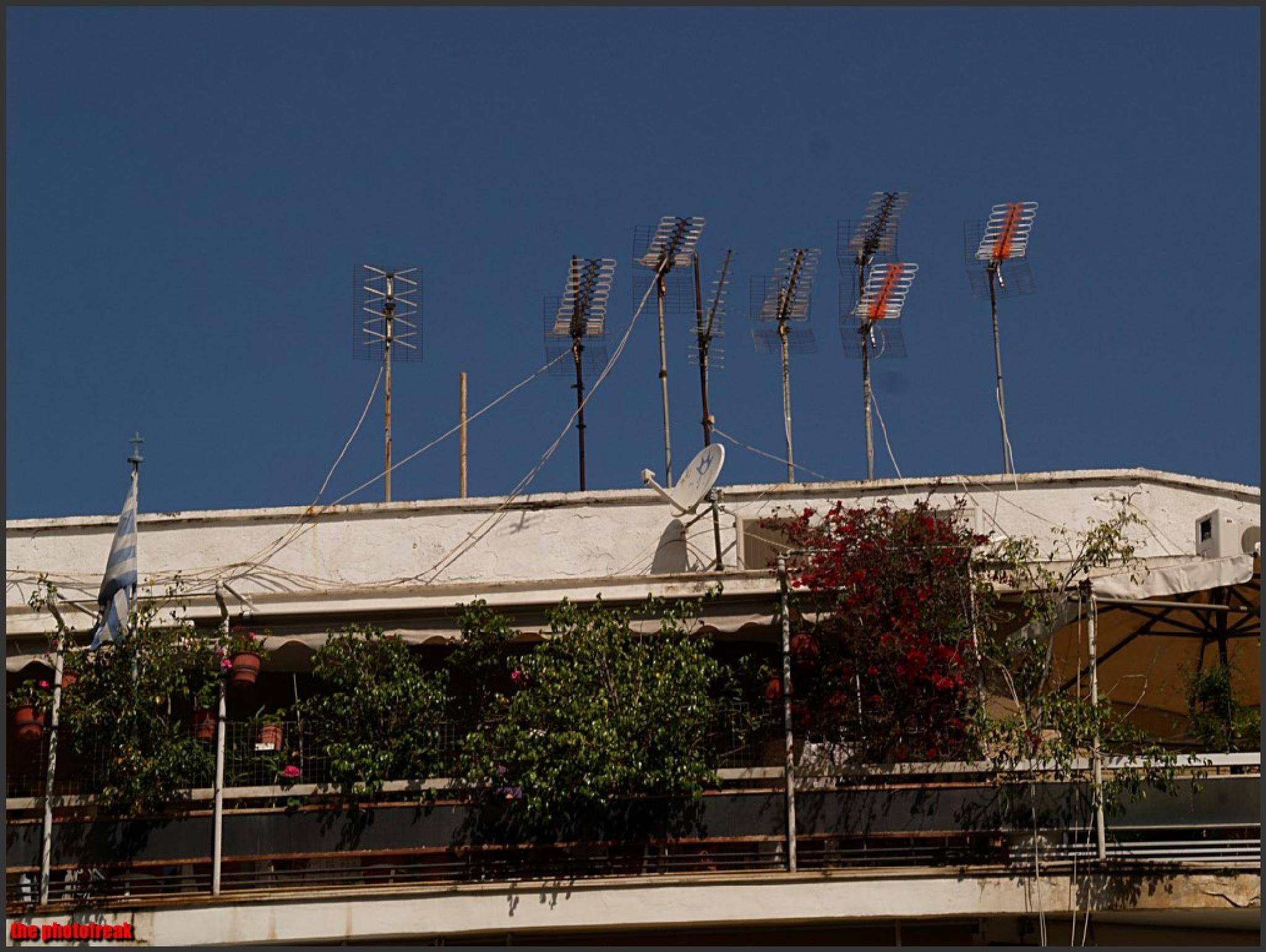 antennas of greece by harrythephotofreak