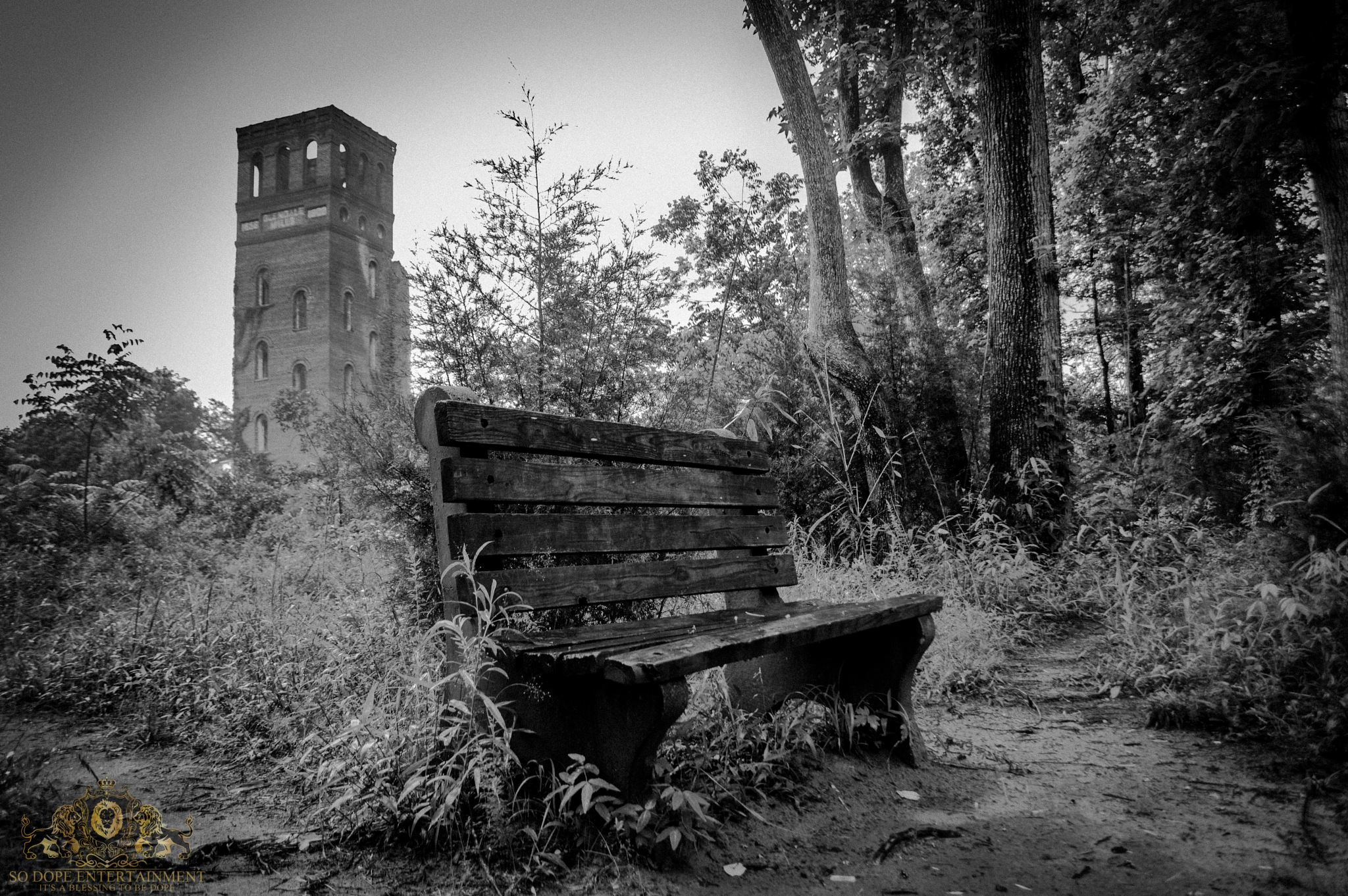 Bench & Ruins by Antonio Byrd