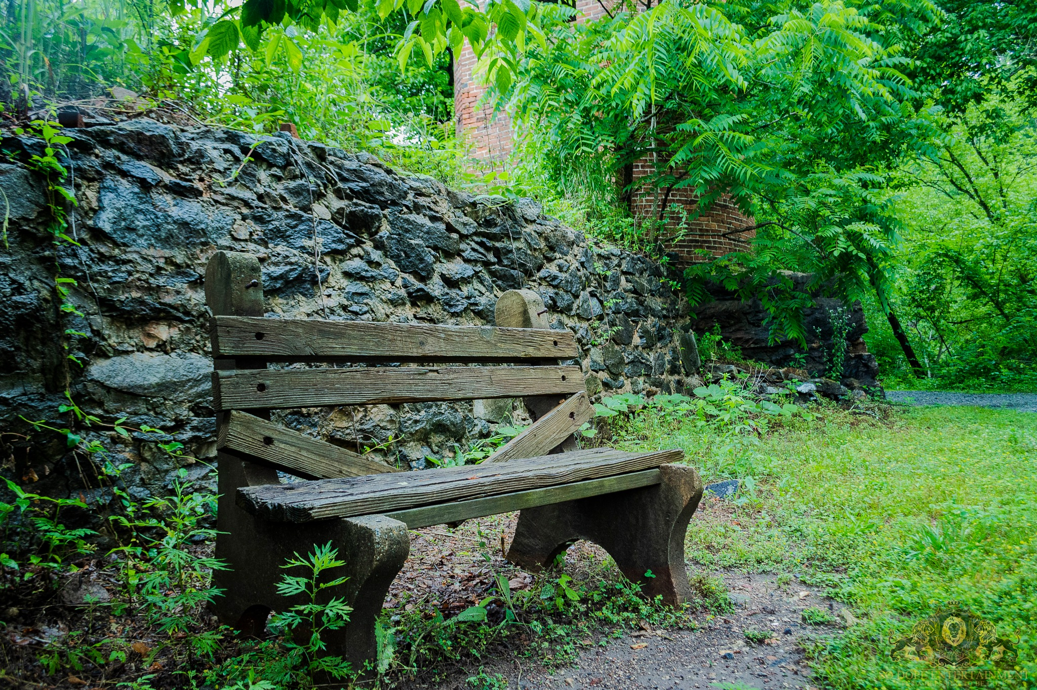 Broken Bench by Antonio Byrd