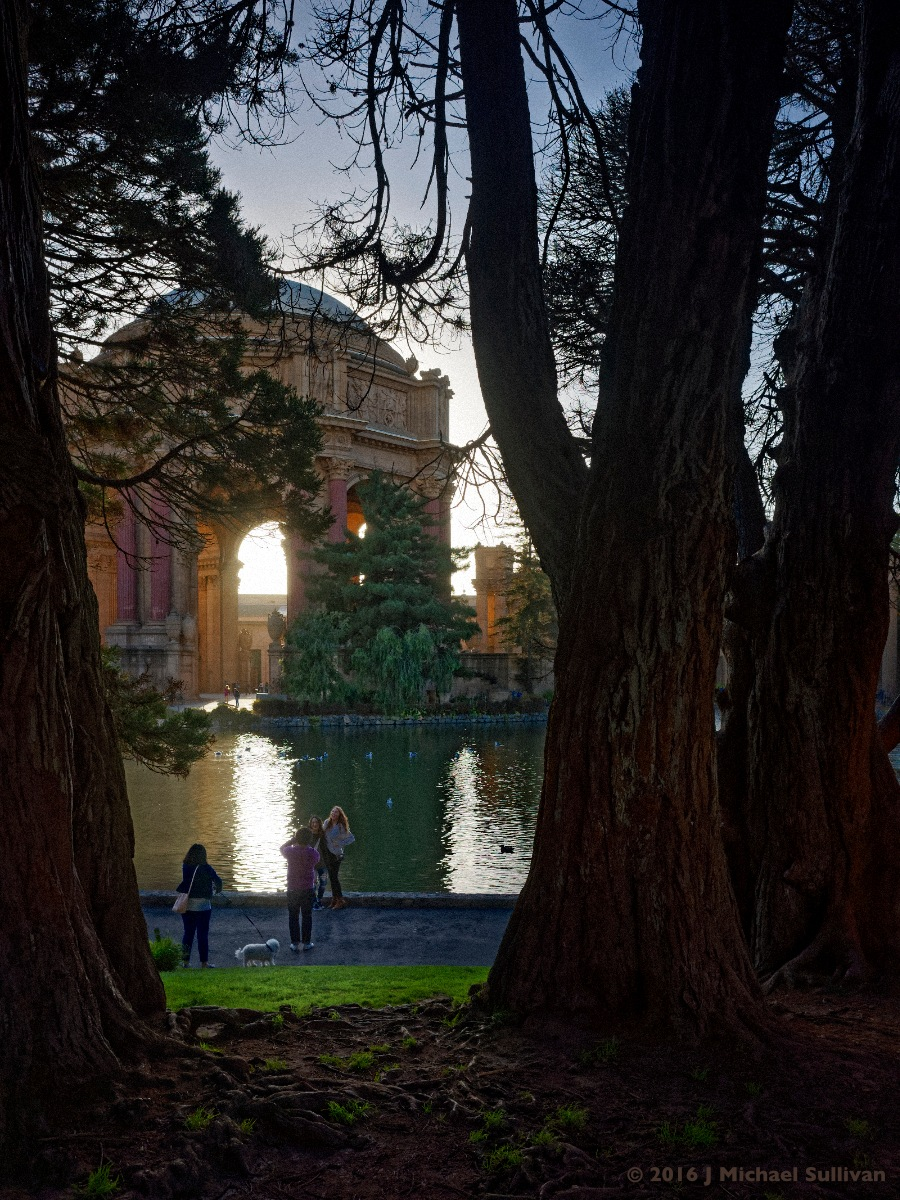 Palace of Fine Arts, San Francisco by J Michael Sullivan