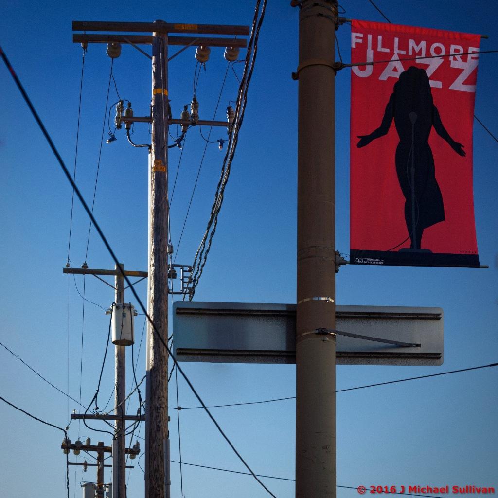 Fillmore Street Detail, SFO by J Michael Sullivan
