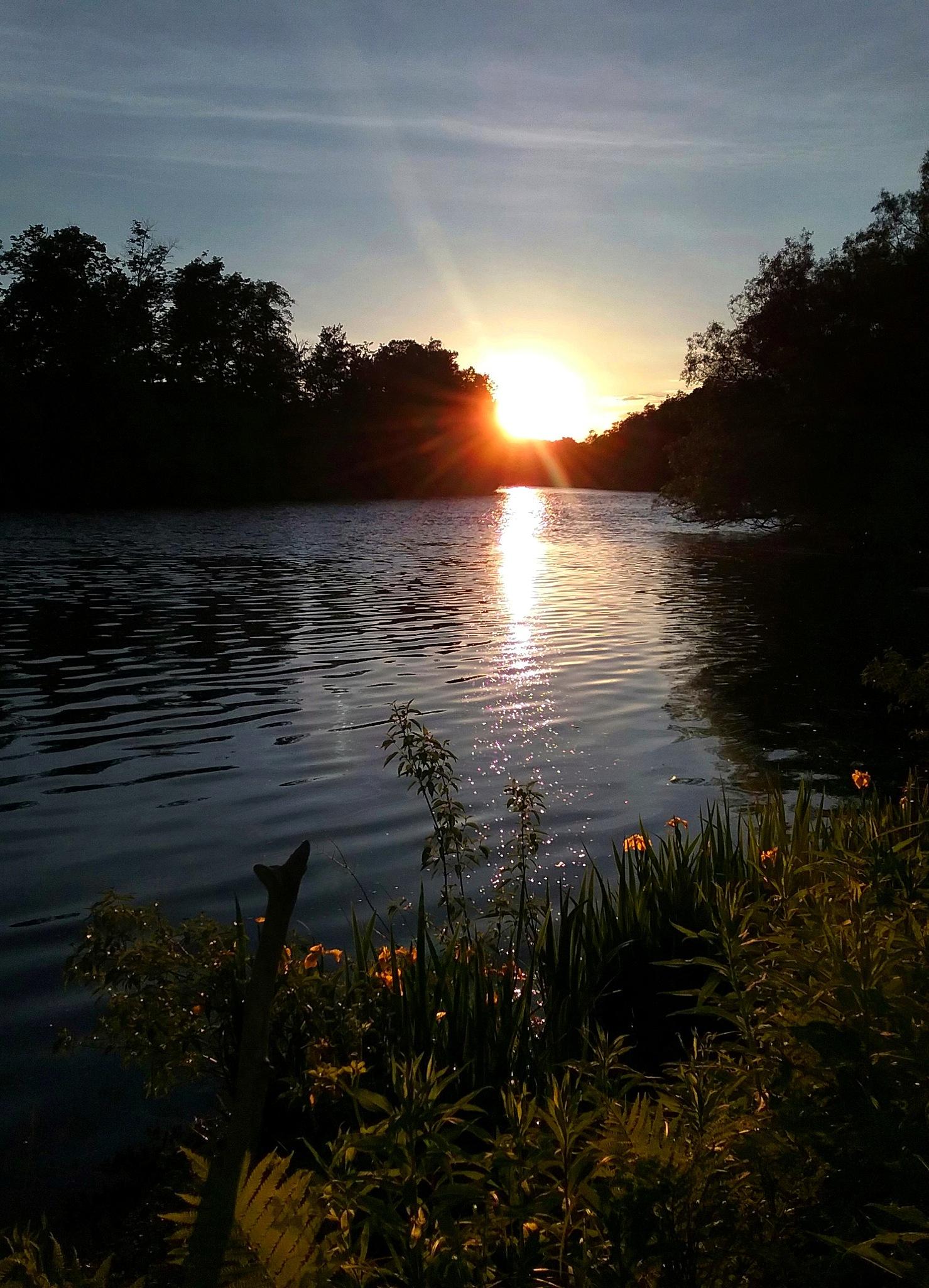 Poland, NY at Sundown  by Mindy Beth