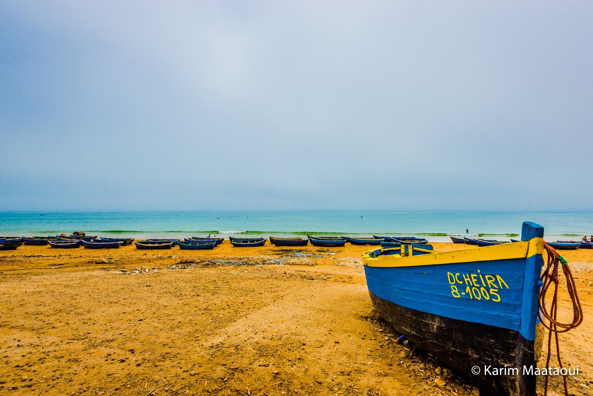 boat by KarimMaataoui