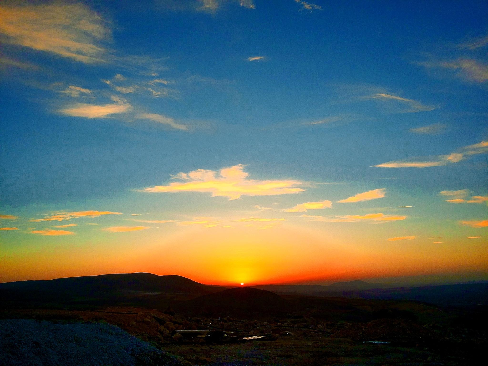 Sunset by zakaria sadouni