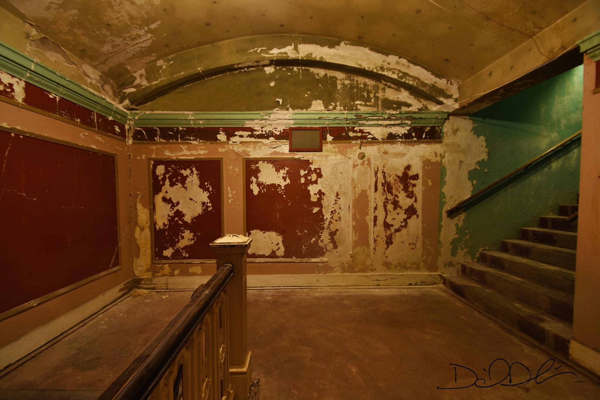 Jayhawk Theatre Upstair Hallway by Daniel Dubois