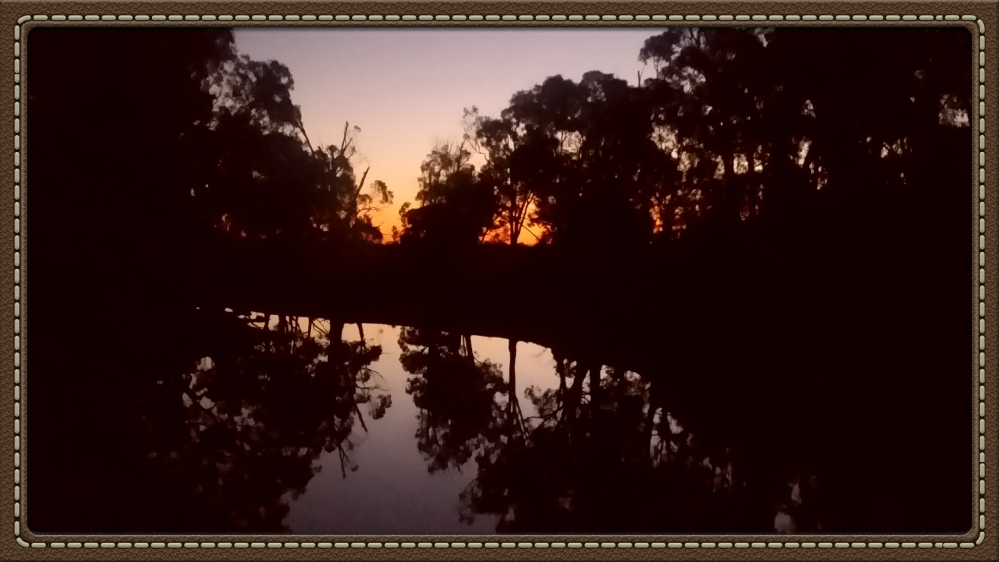 Wakool River by Leica Ross