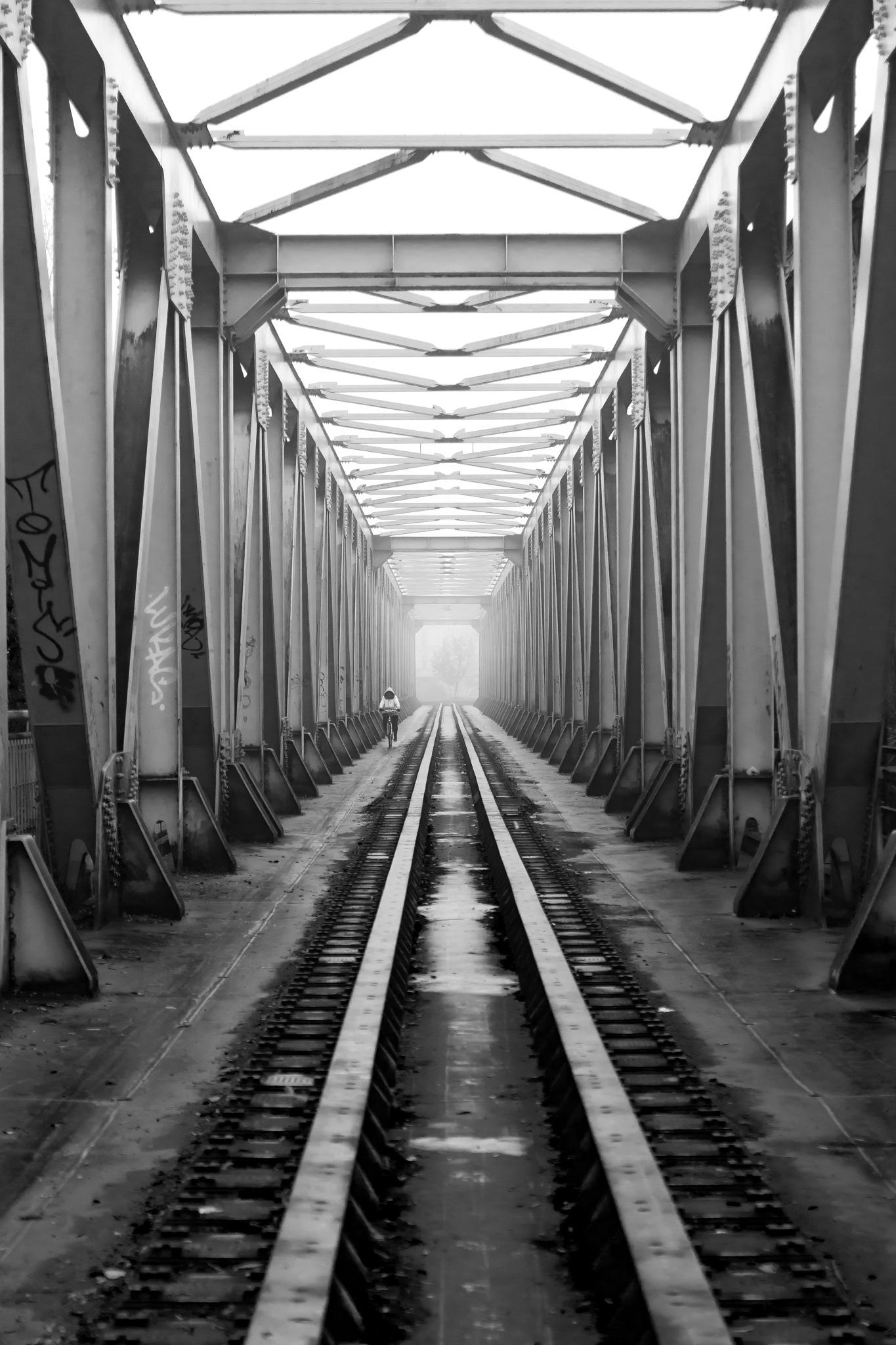 Morning, Trenčín by Milan Bebej