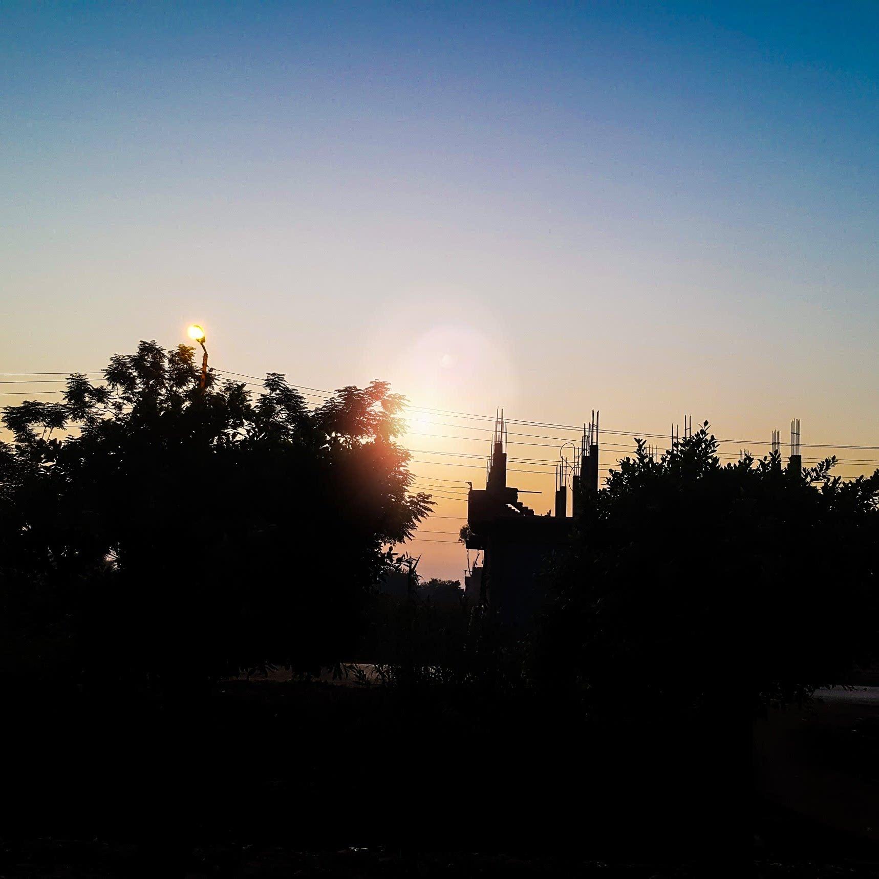 sunset by AbdElrahman Ayman