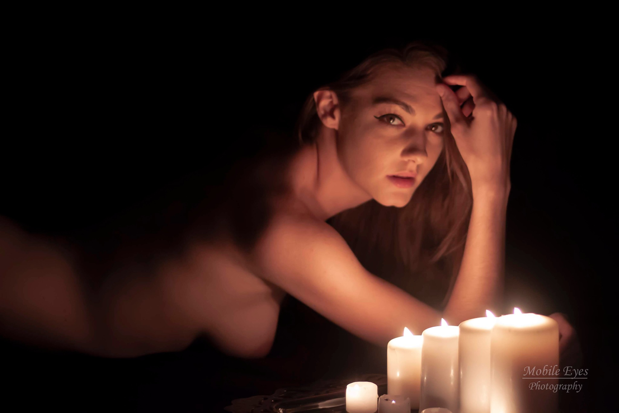 Dani by candlelight  by Mobileeyesphoto